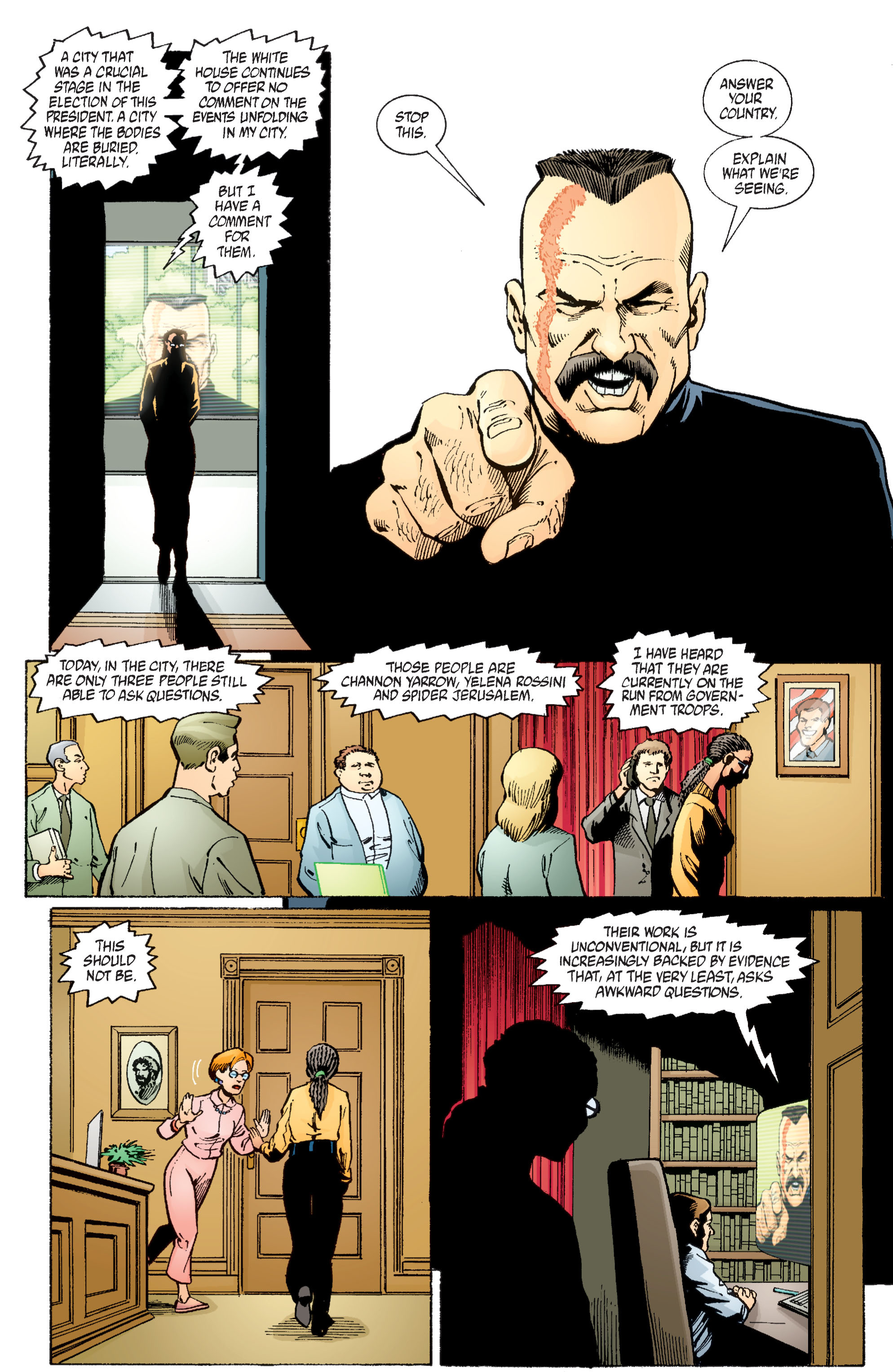 Read online Transmetropolitan comic -  Issue #58 - 5