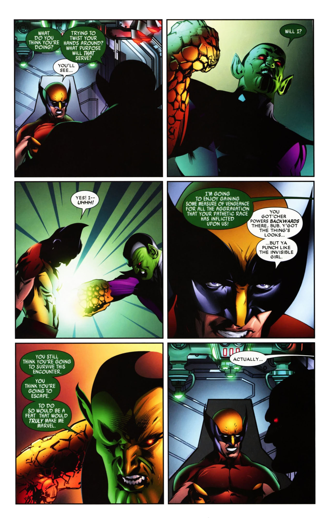 Read online Wolverine: First Class comic -  Issue #19 - 21