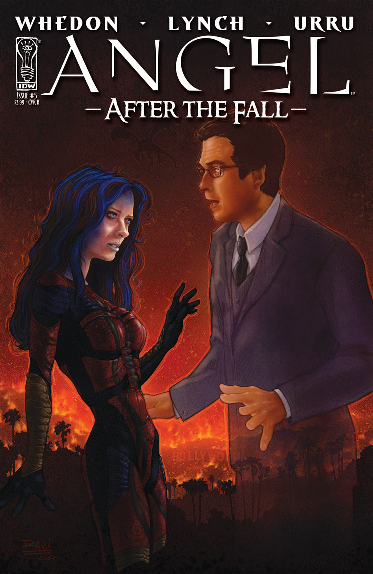 Read online Angel: After The Fall comic -  Issue #5 - 2