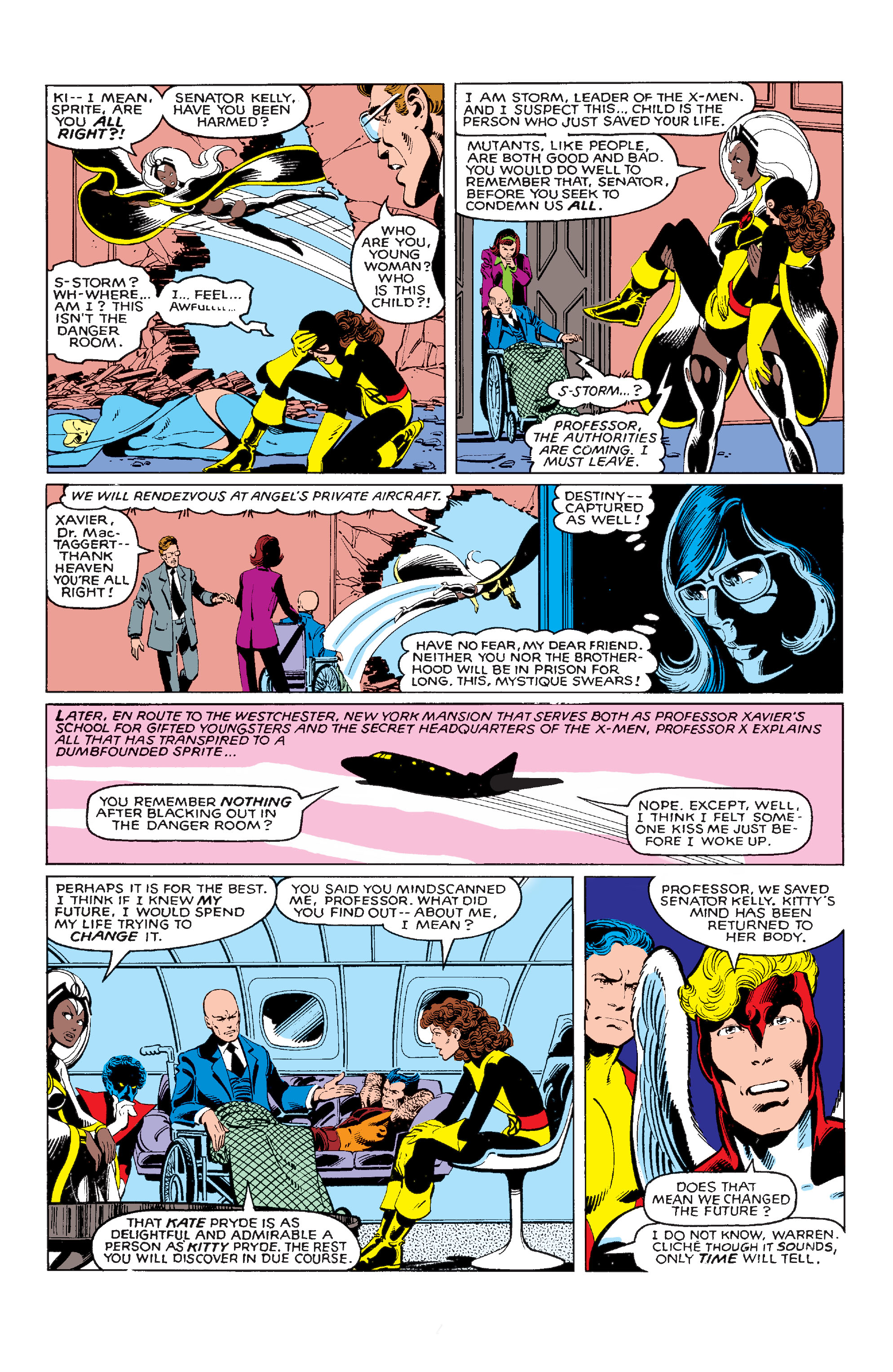 Read online Uncanny X-Men (1963) comic -  Issue #142 - 21