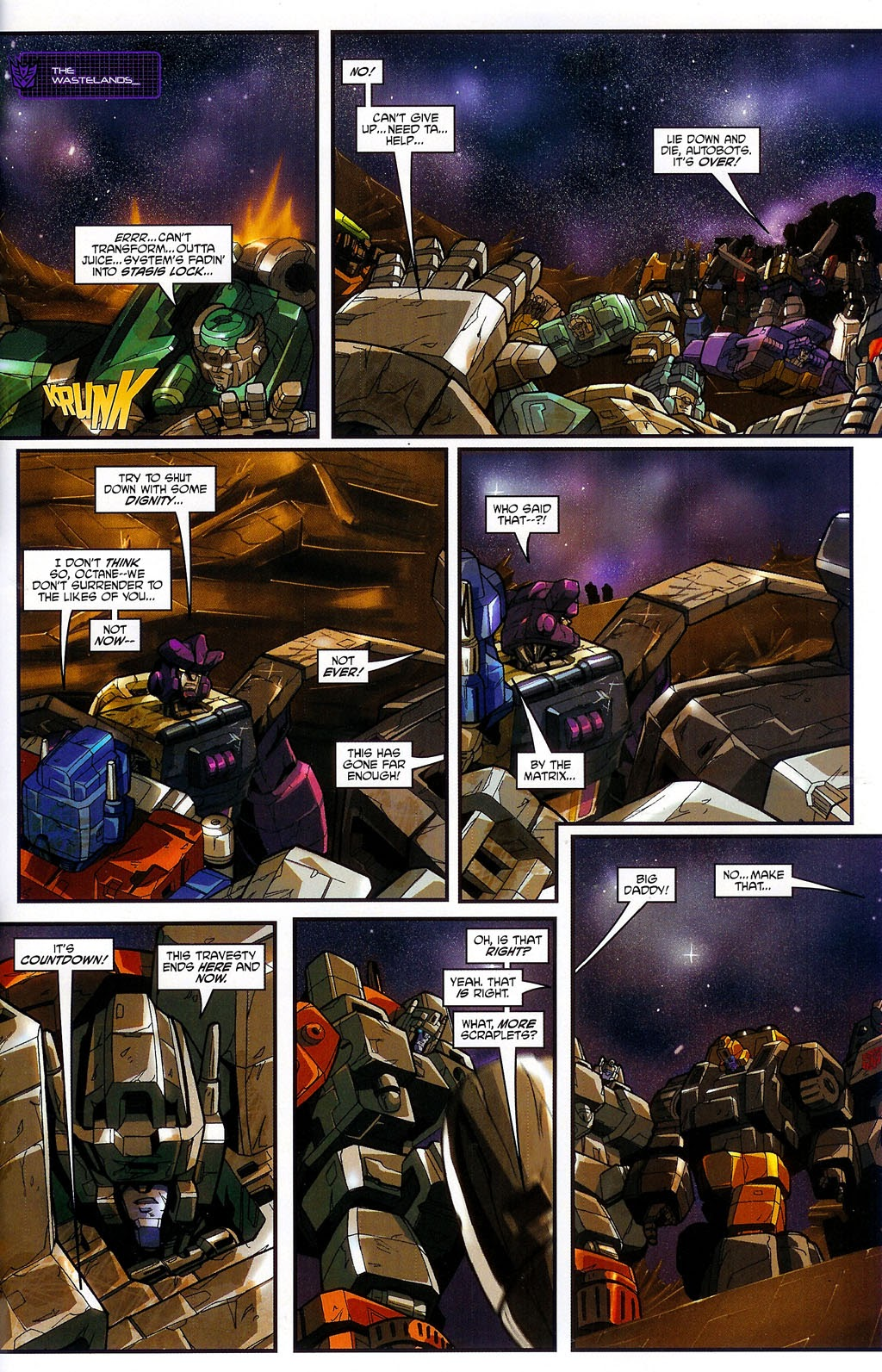 Read online Transformers: Micromasters comic -  Issue #4 - 21