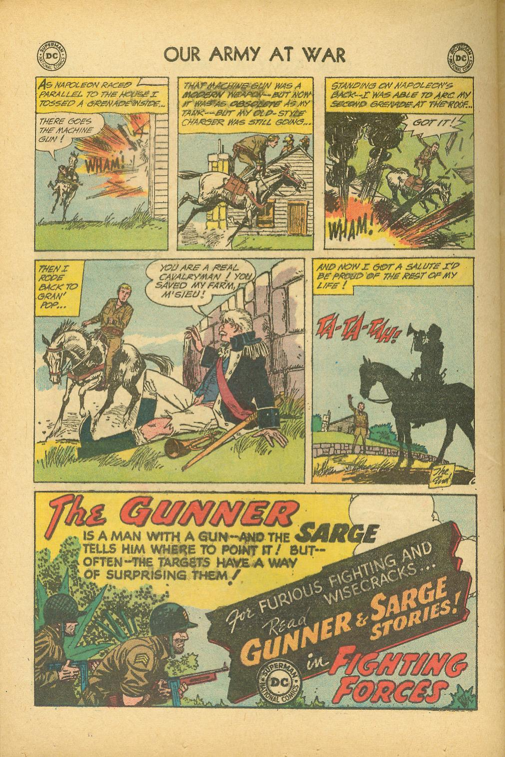 Our Army at War (1952) issue 100 - Page 32