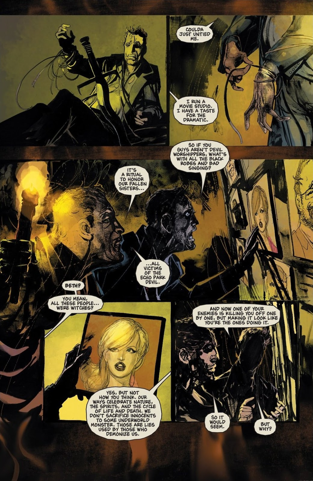 Read online Trick 'r Treat: Days of the Dead comic -  Issue # TPB - 85