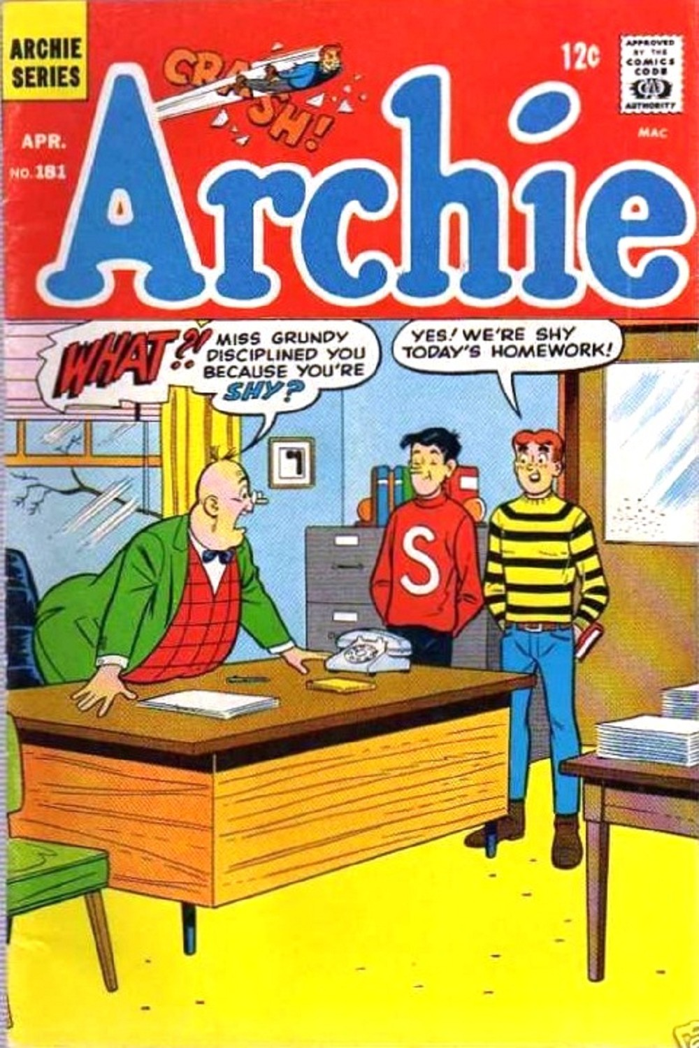 Read online Archie (1960) comic -  Issue #181 - 1