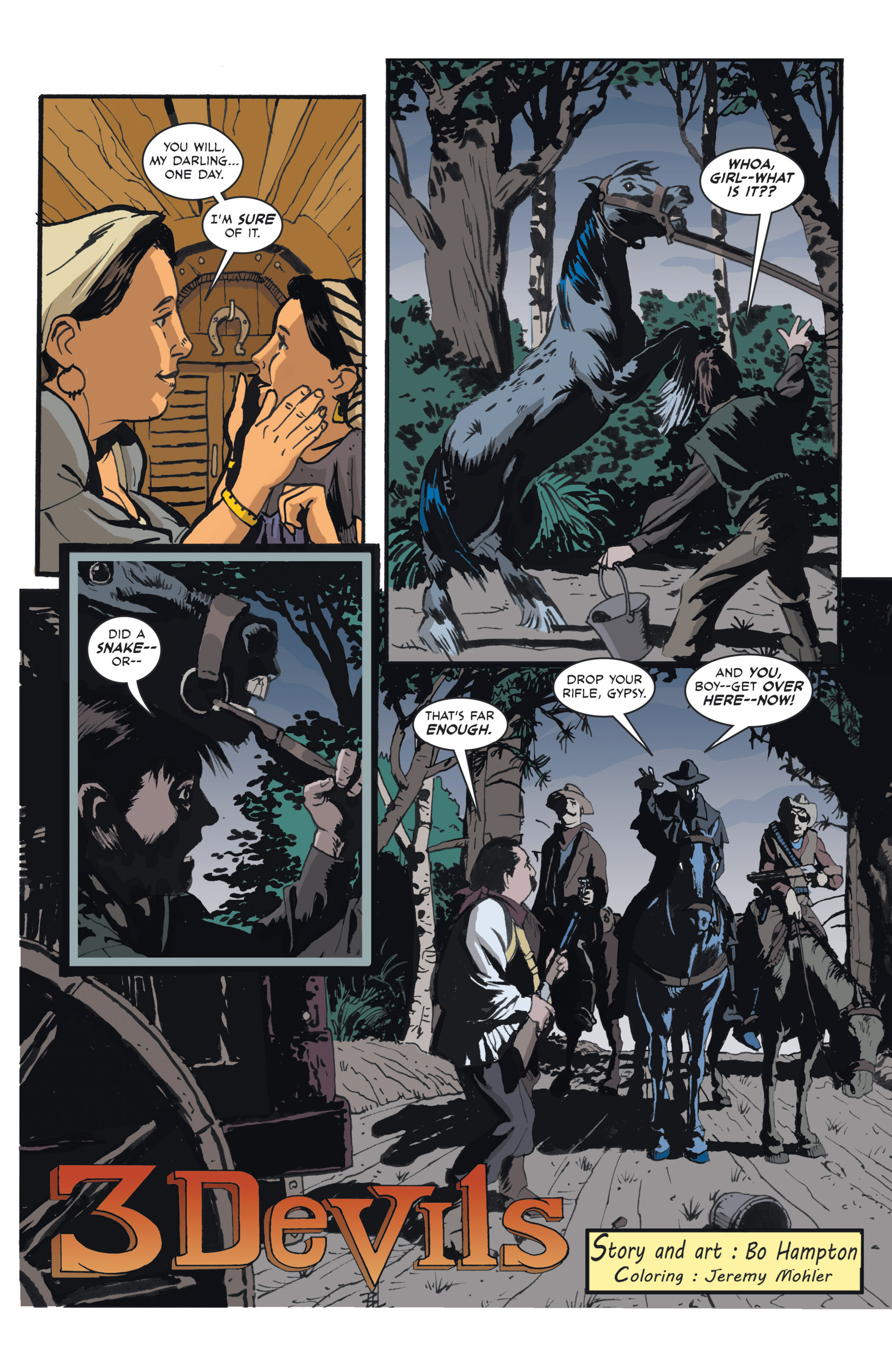 Read online 3 Devils comic -  Issue #1 - 4