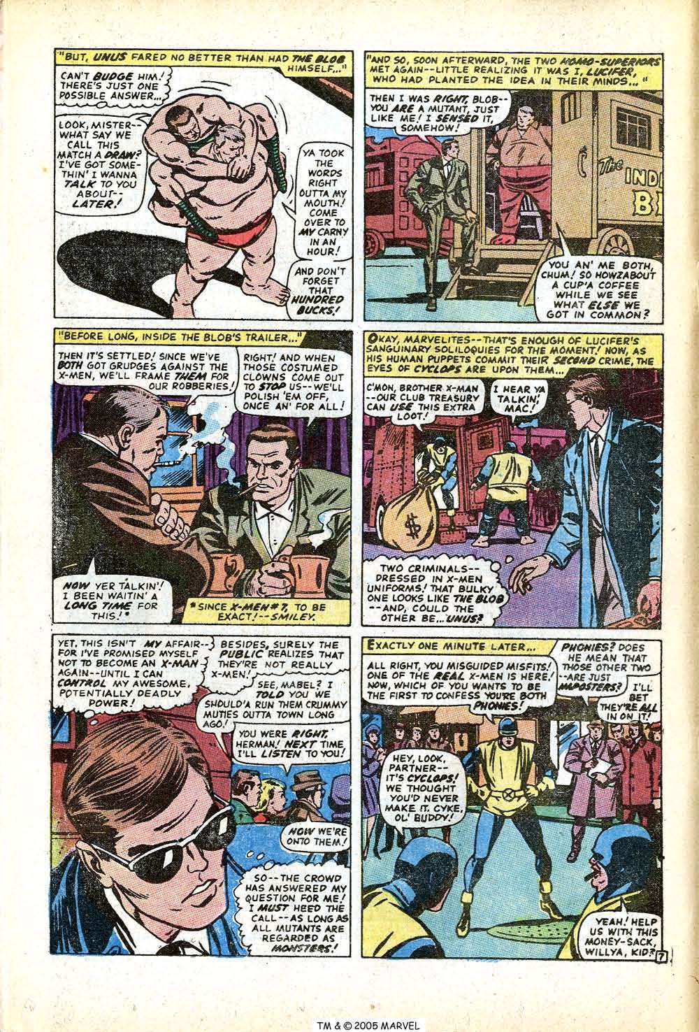 Uncanny X-Men (1963) issue 71 - Page 12