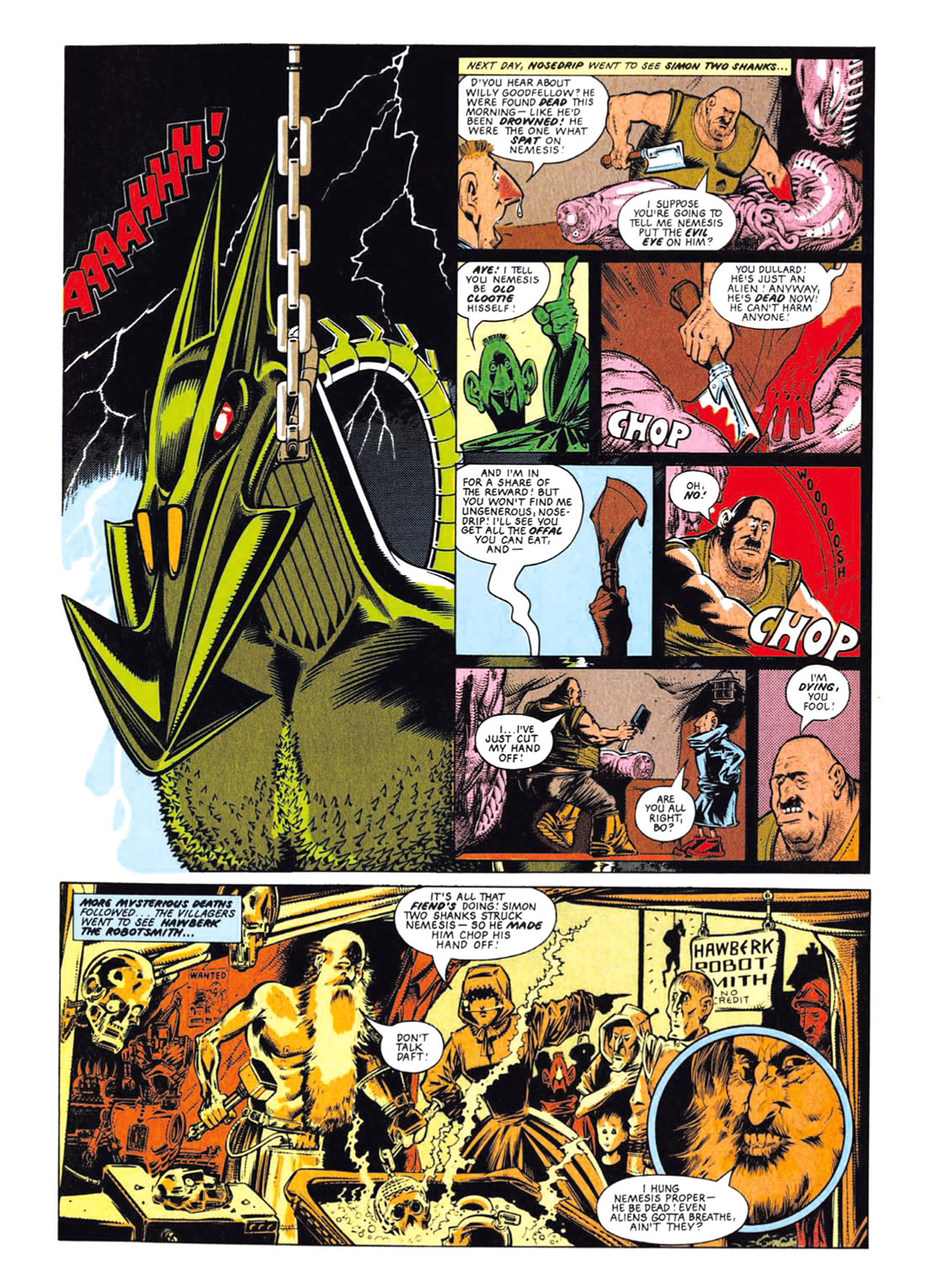 Read online Nemesis The Warlock comic -  Issue # TPB Deviant Edition - 34
