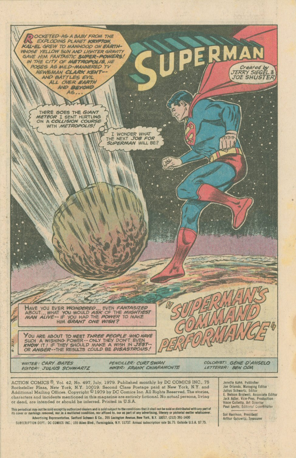 Read online Action Comics (1938) comic -  Issue #497 - 3