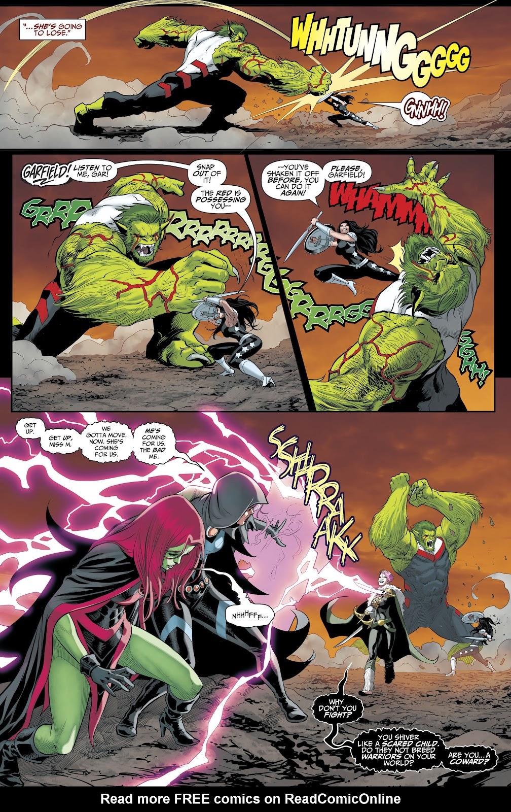 Read online Titans (2016) comic -  Issue #35 - 8