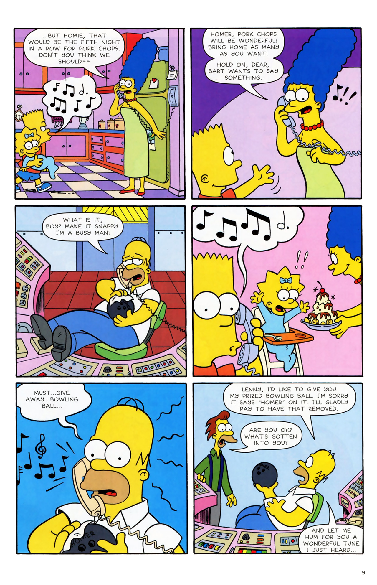 Read online Simpsons Comics comic -  Issue #170 - 8
