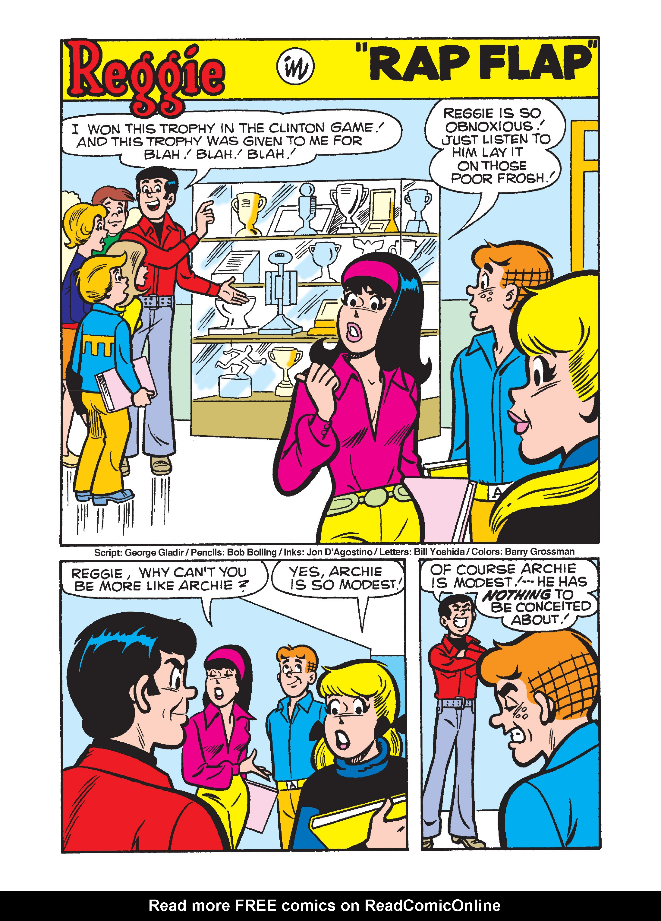 Read online Archie's Funhouse Double Digest comic -  Issue #10 - 73