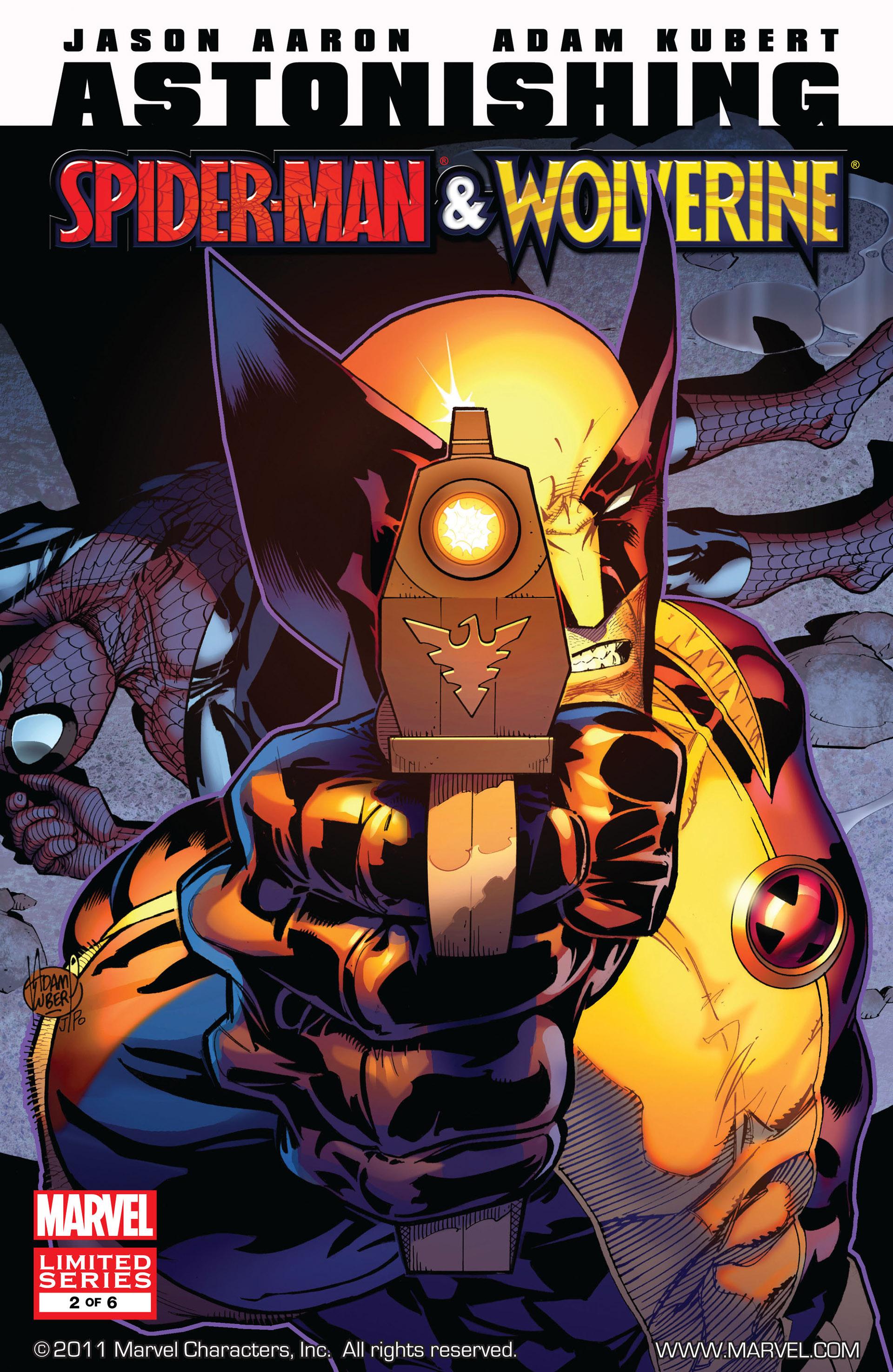 Read online Astonishing Spider-Man & Wolverine comic -  Issue #2 - 1