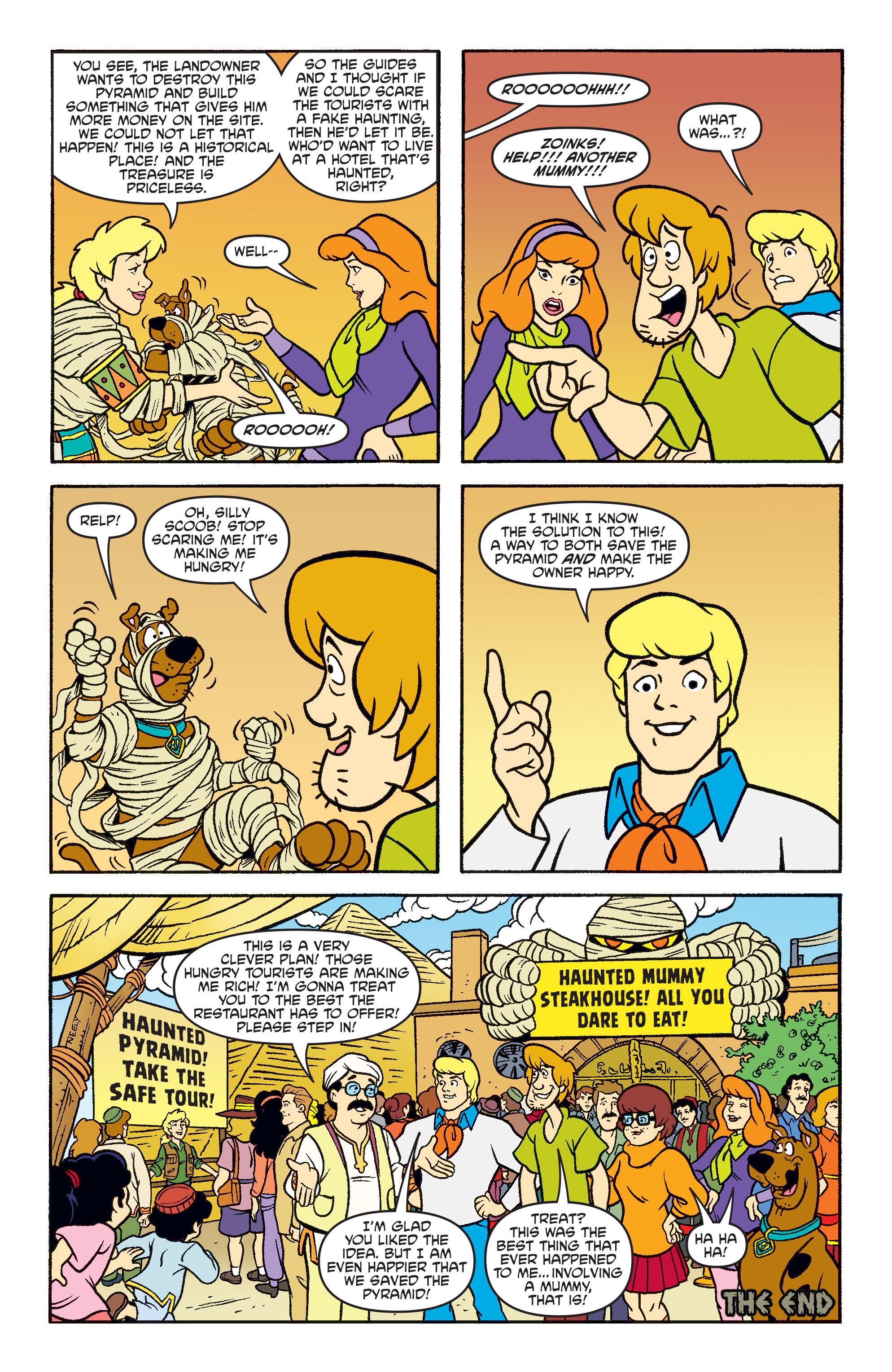 Read online Scooby-Doo: Where Are You? comic -  Issue #71 - 21