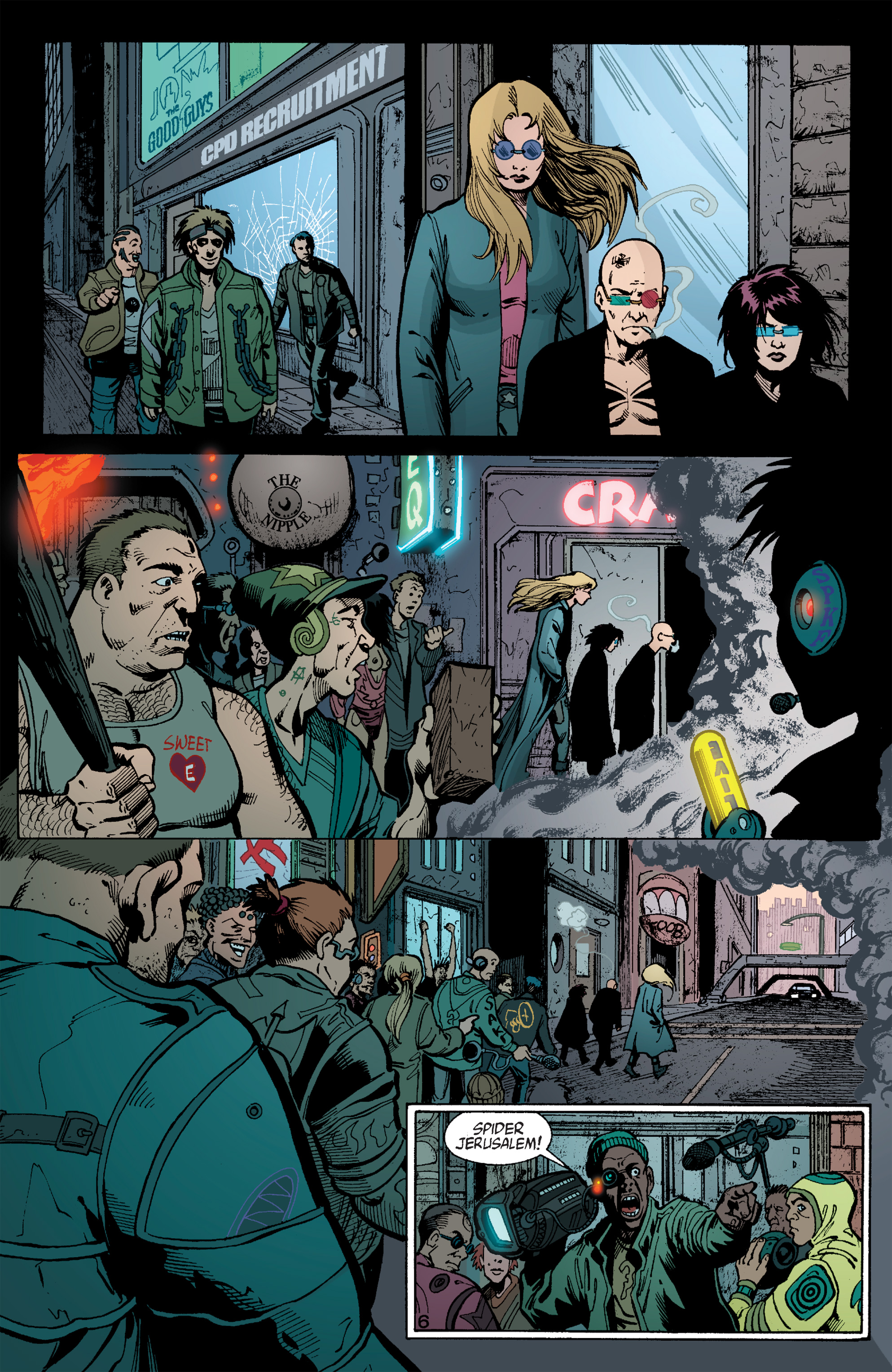 Read online Transmetropolitan comic -  Issue #59 - 7