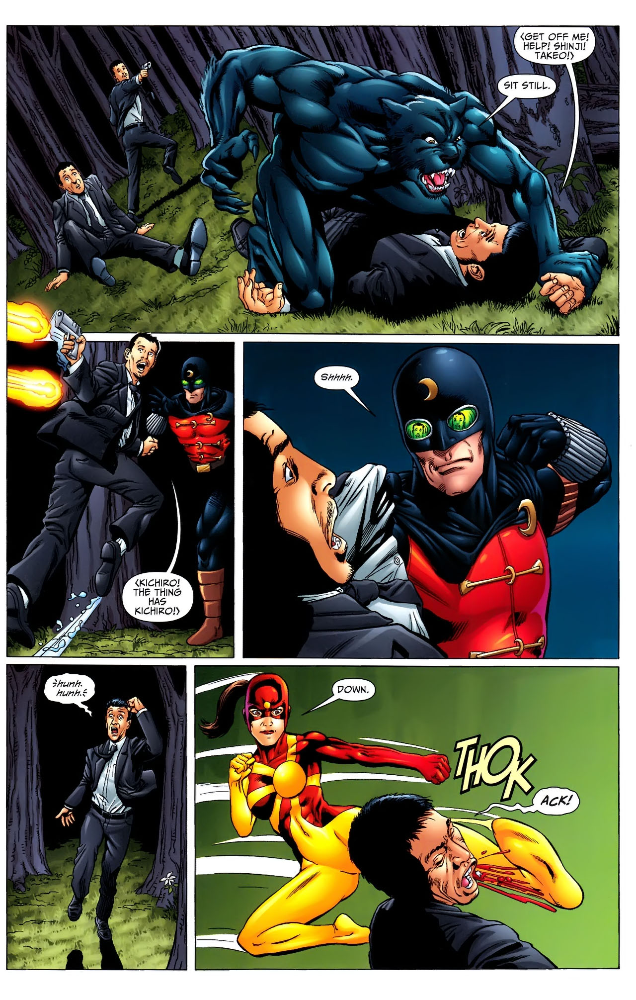 Read online JSA 80-Page Giant 2011 comic -  Issue # Full - 13