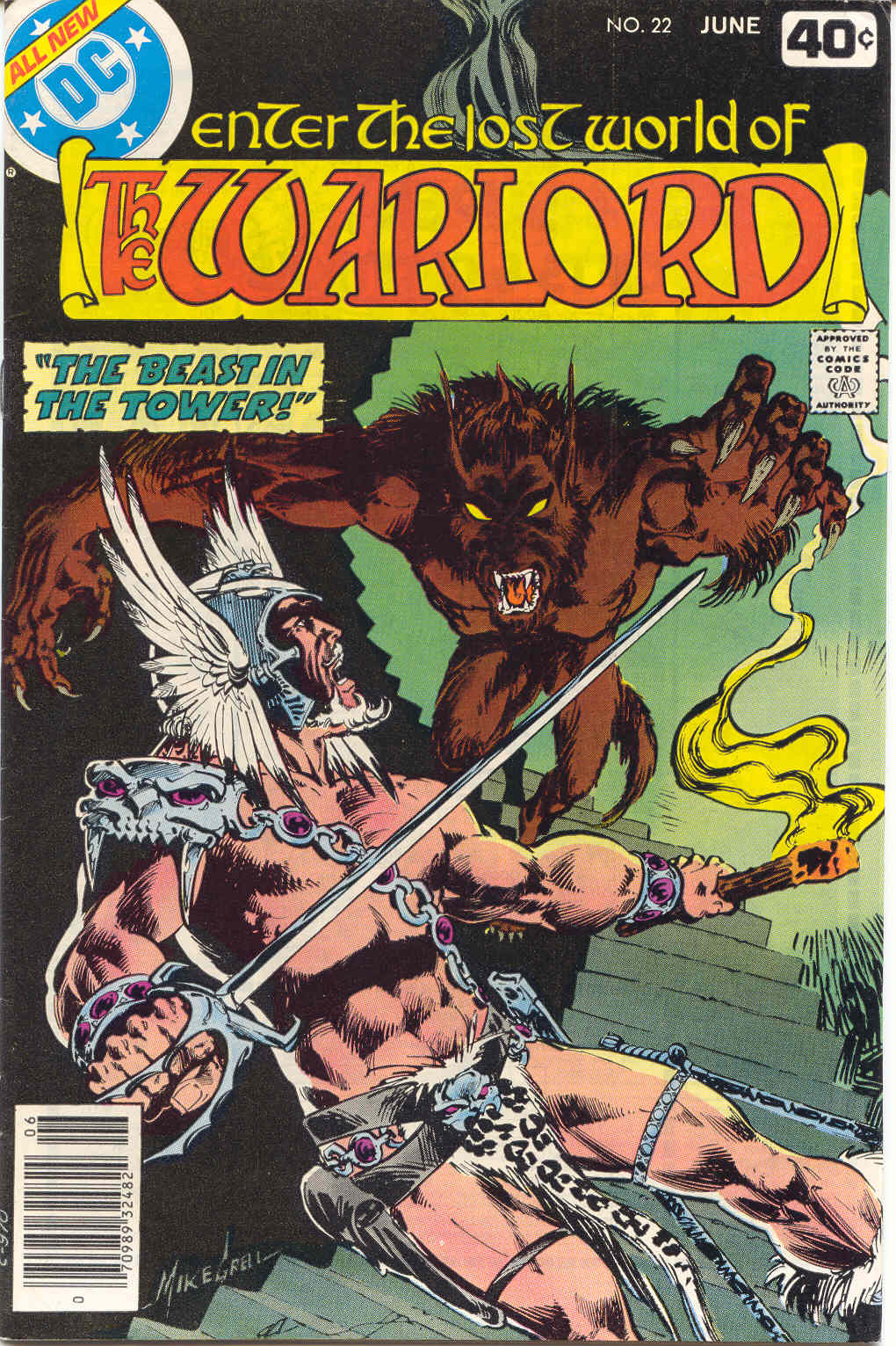 Warlord (1976) 22 Page 1