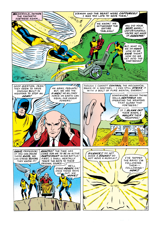 Read online Uncanny X-Men (1963) comic -  Issue #15 - 10