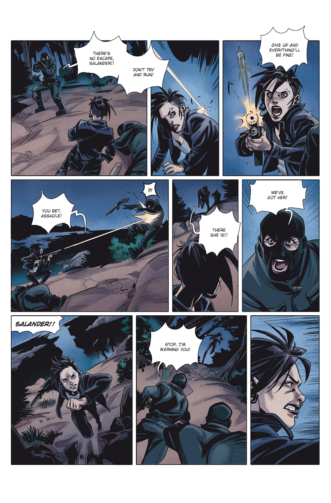 Read online Millennium: The Girl Who Danced With Death comic -  Issue #1 - 41
