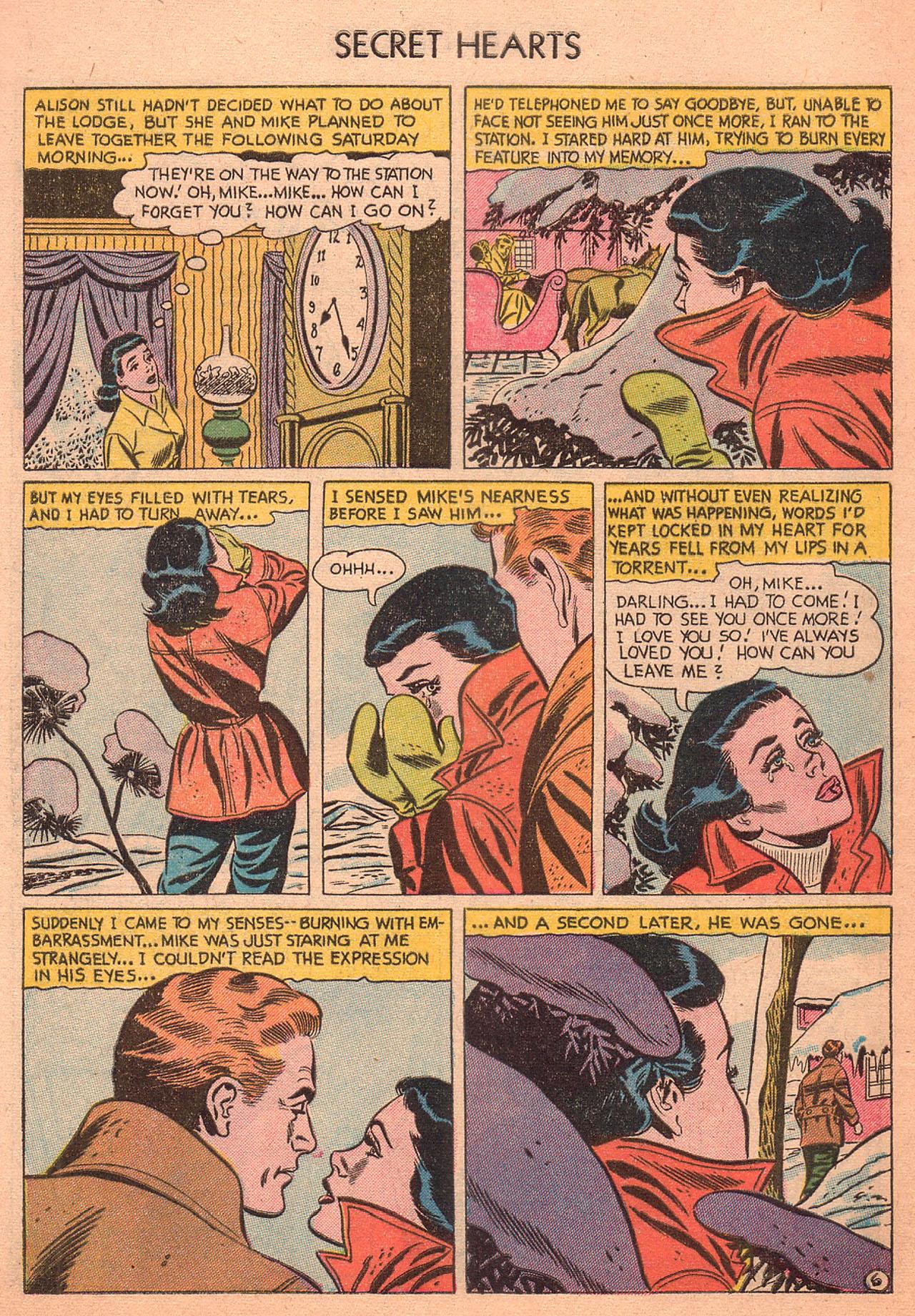 Read online Secret Hearts comic -  Issue #27 - 8