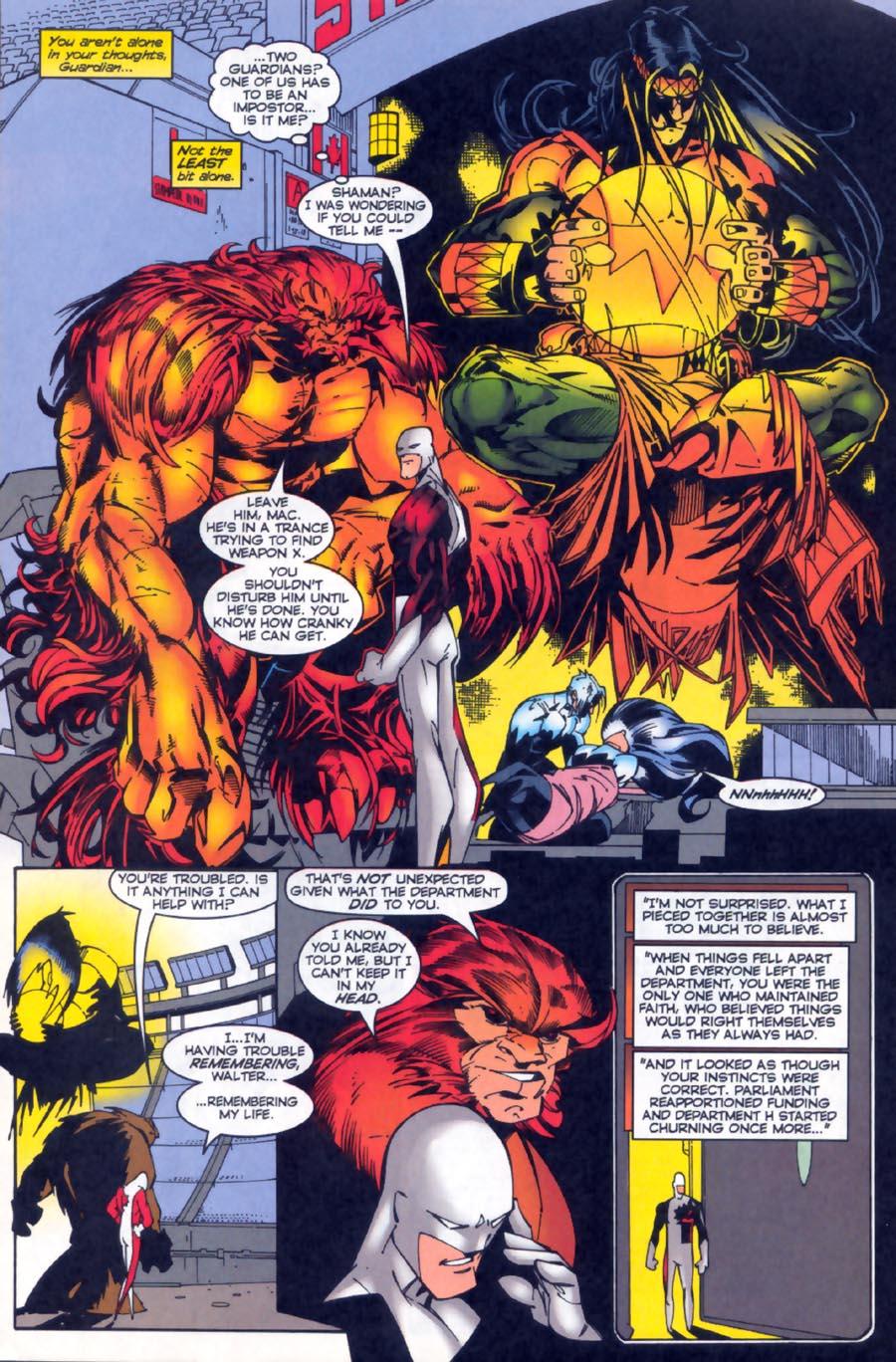 Read online Alpha Flight (1997) comic -  Issue #19 - 18