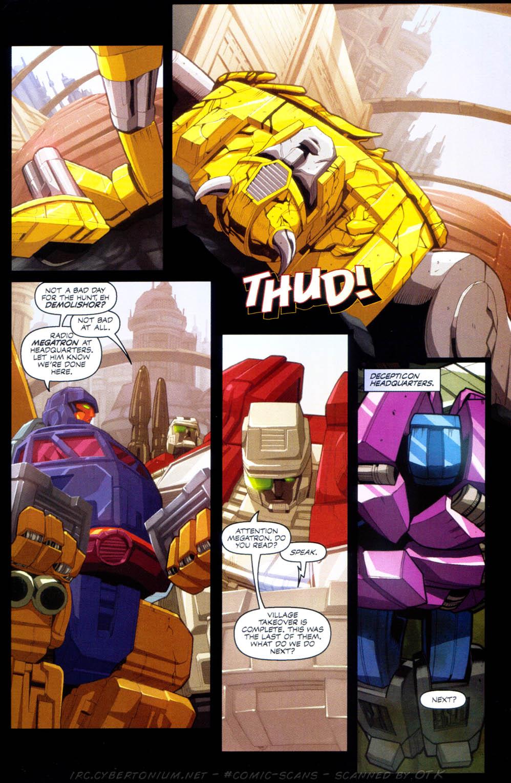 Read online Transformers Armada comic -  Issue #1 - 25