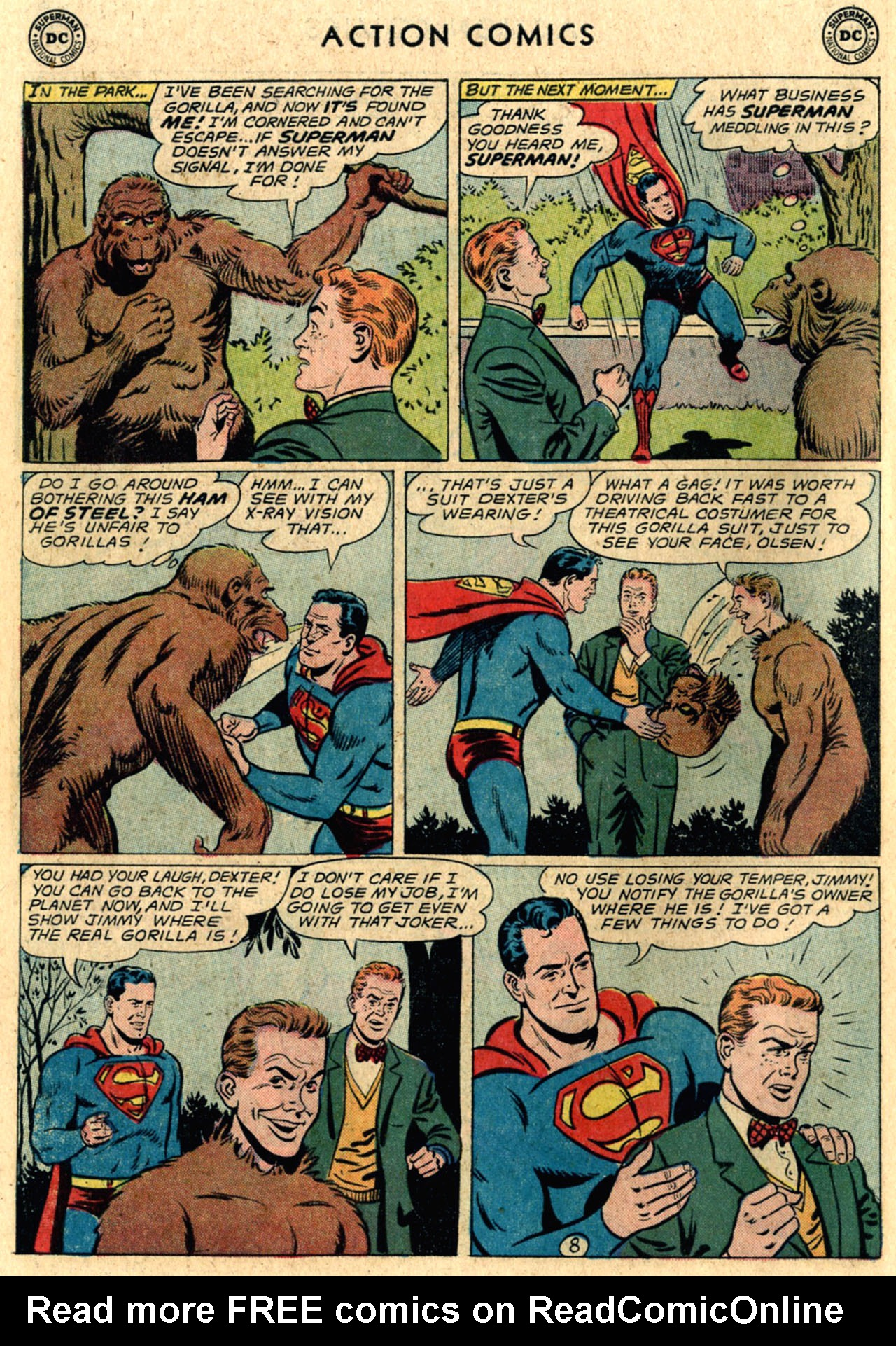 Read online Action Comics (1938) comic -  Issue #289 - 10