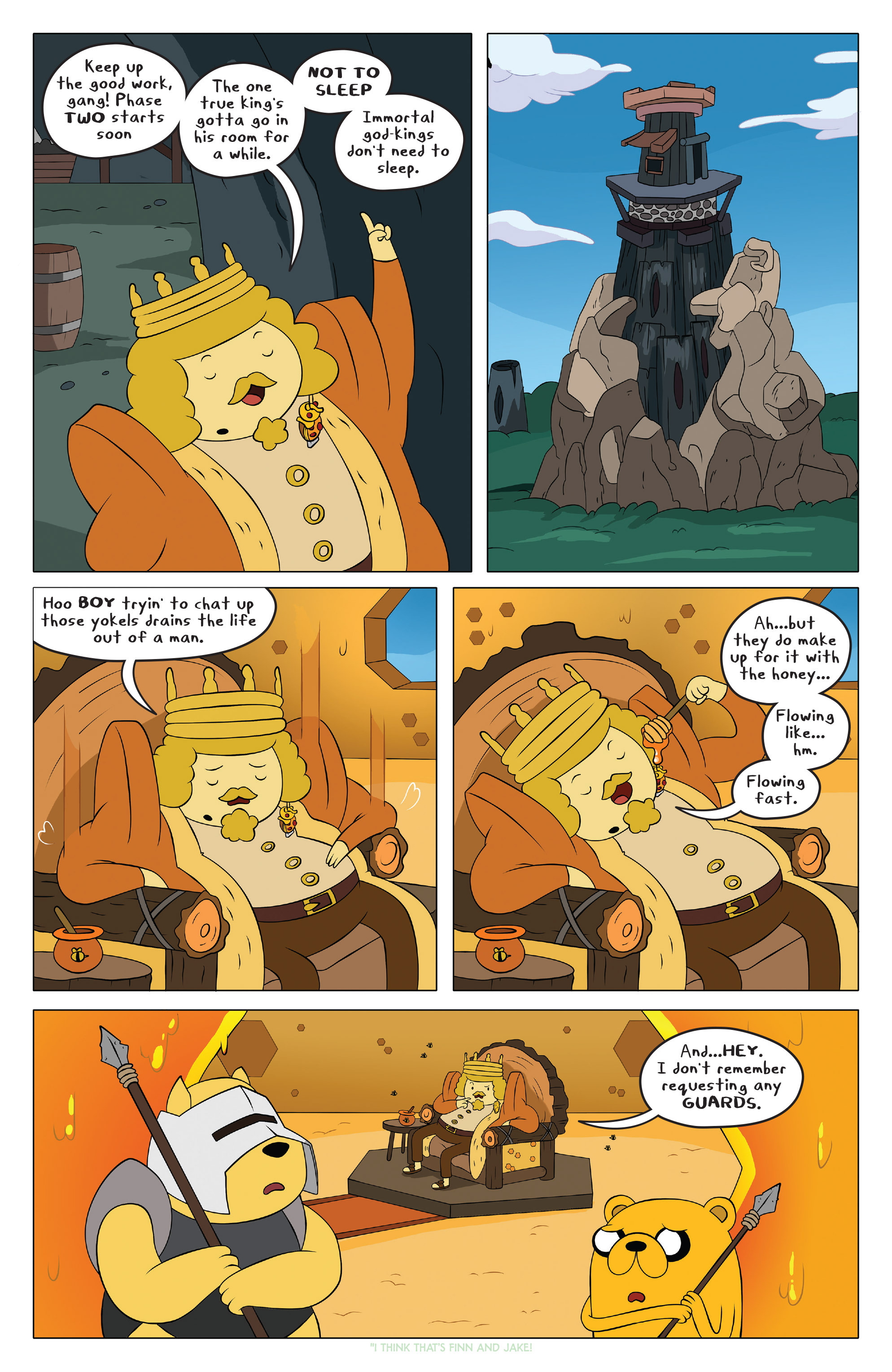 Read online Adventure Time comic -  Issue #42 - 13