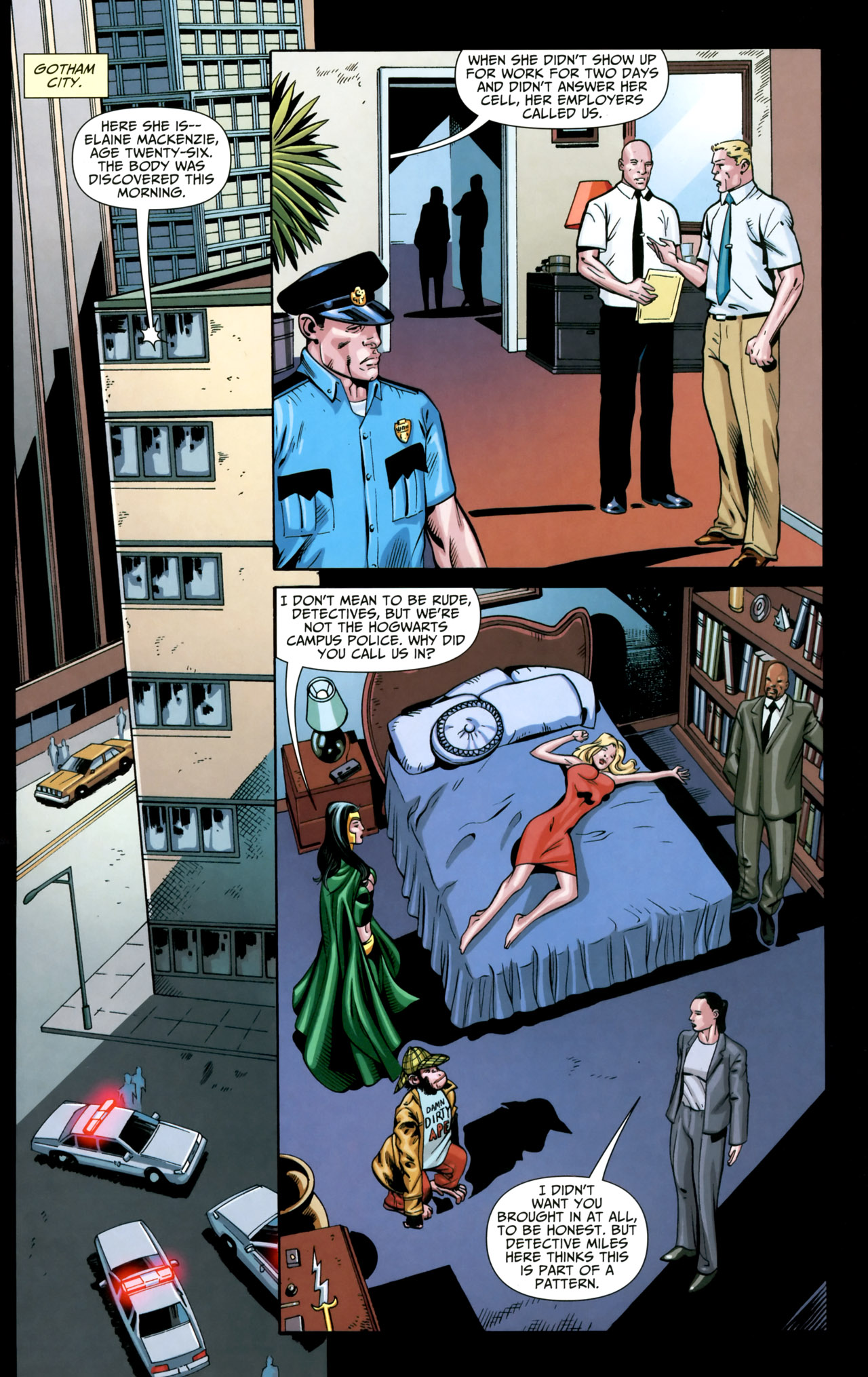 Read online Shadowpact comic -  Issue #18 - 12