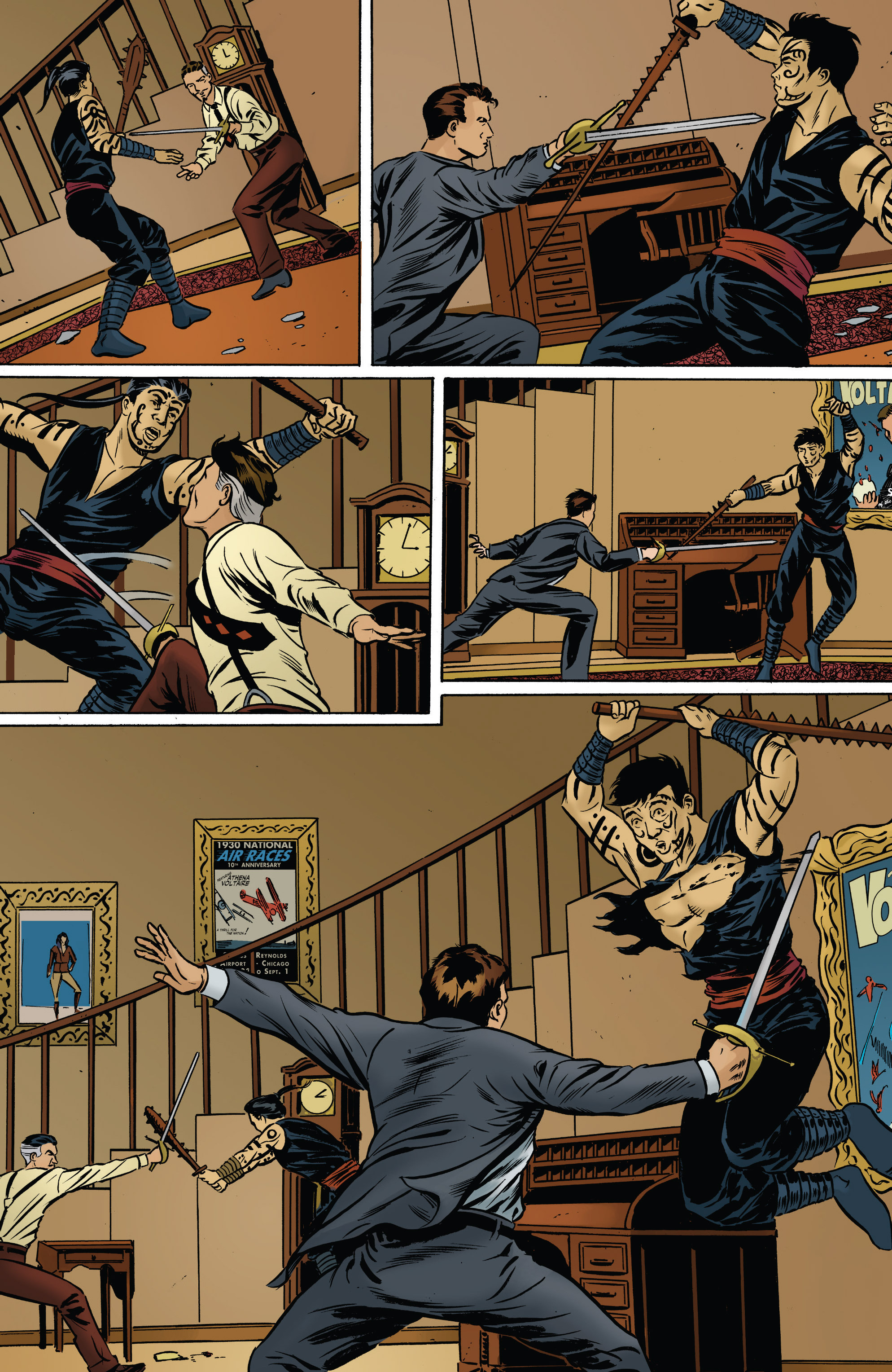 Read online Athena Voltaire and the Volcano Goddess comic -  Issue #2 - 5