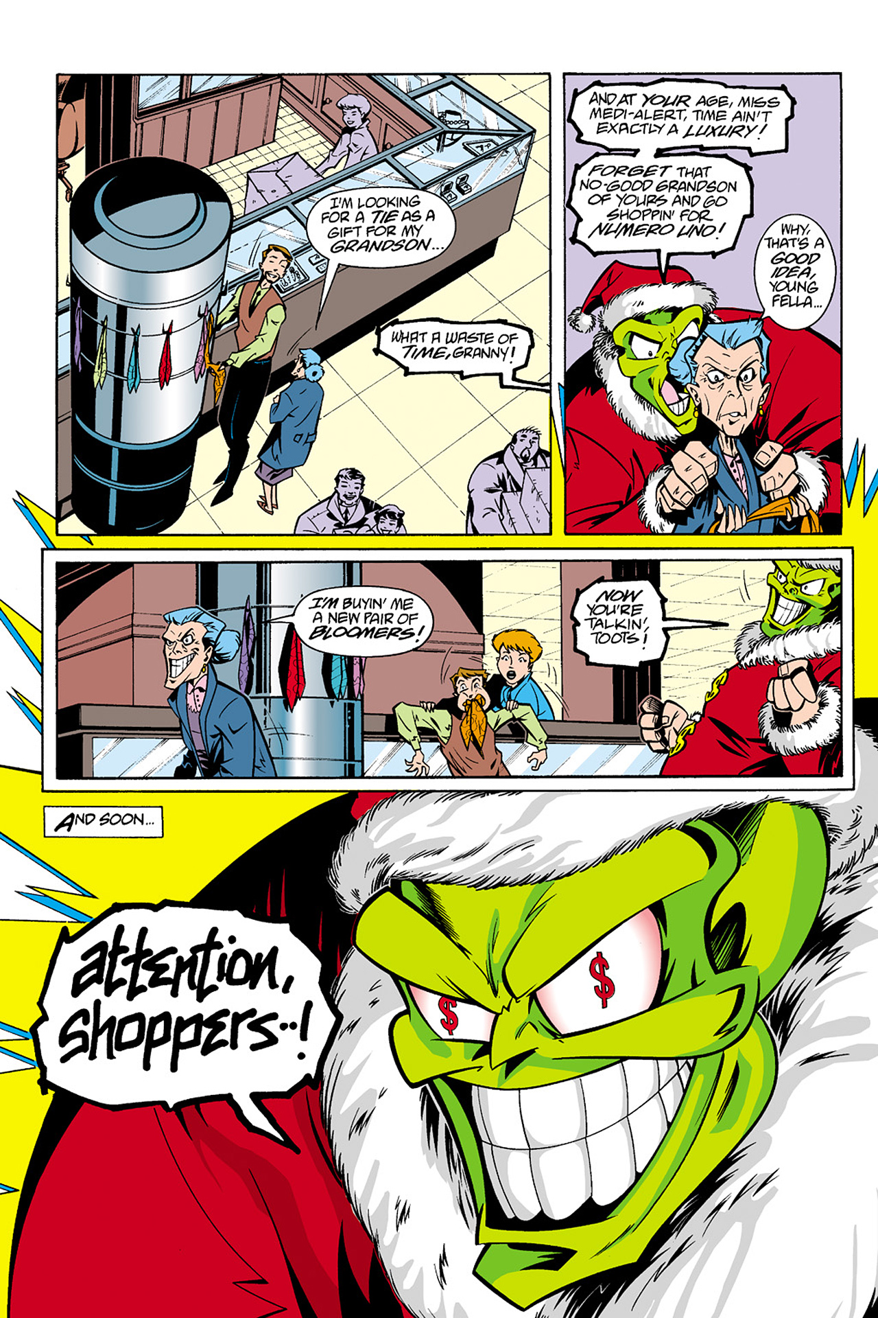Read online Adventures Of The Mask Omnibus comic -  Issue #Adventures Of The Mask Omnibus Full - 314