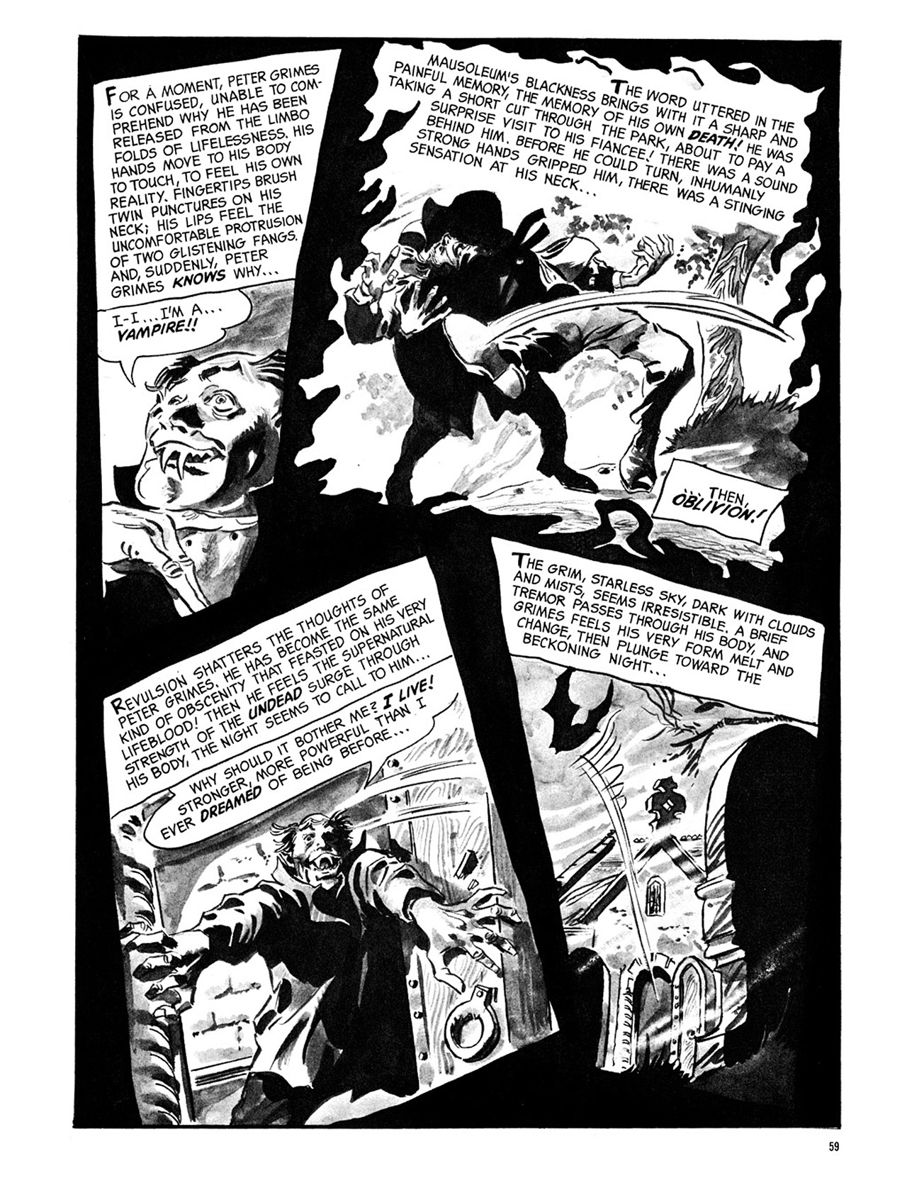 Read online Eerie Archives comic -  Issue # TPB 3 - 60