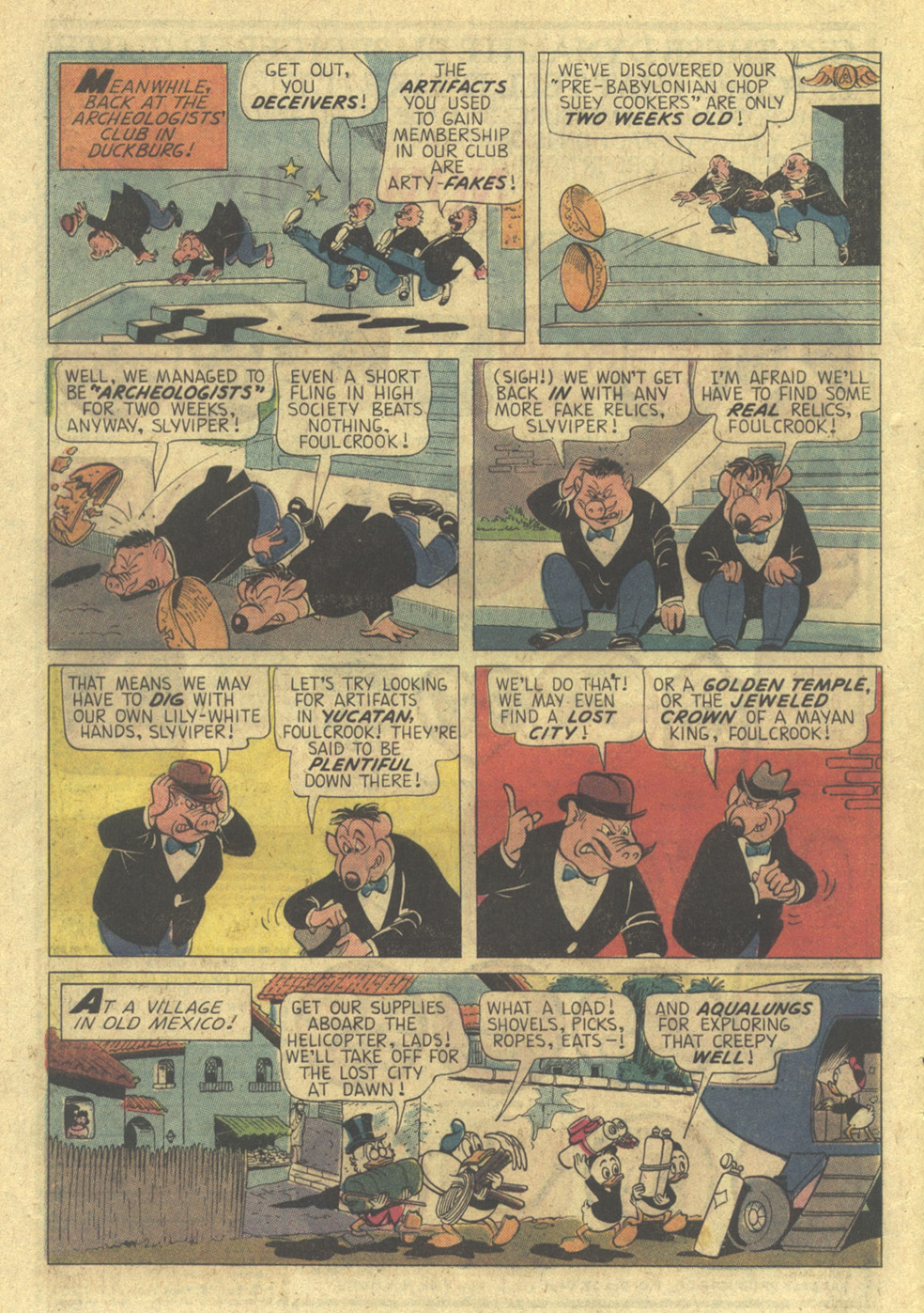 Read online Uncle Scrooge (1953) comic -  Issue #113 - 8