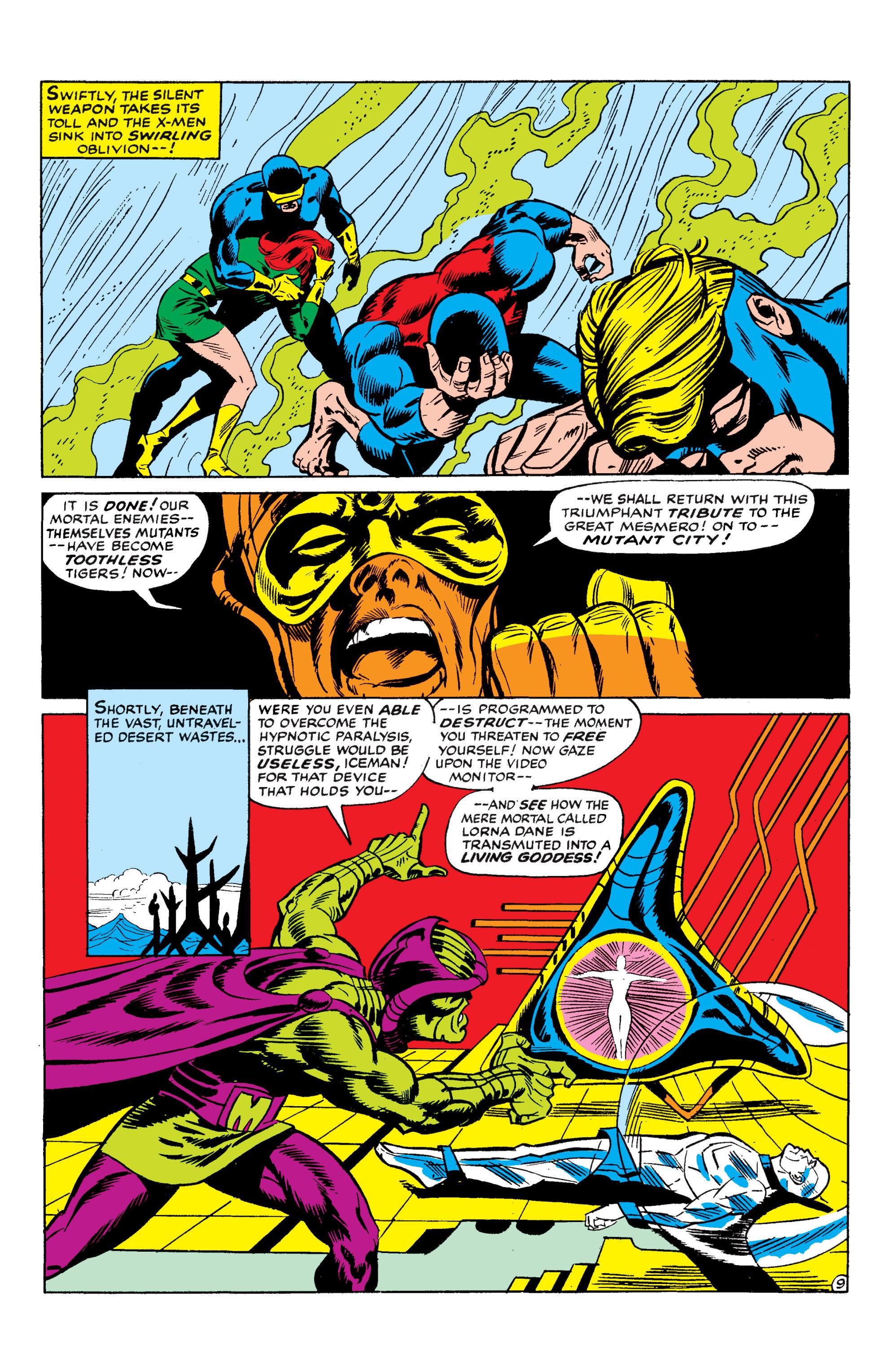 Read online Uncanny X-Men (1963) comic -  Issue #50 - 9