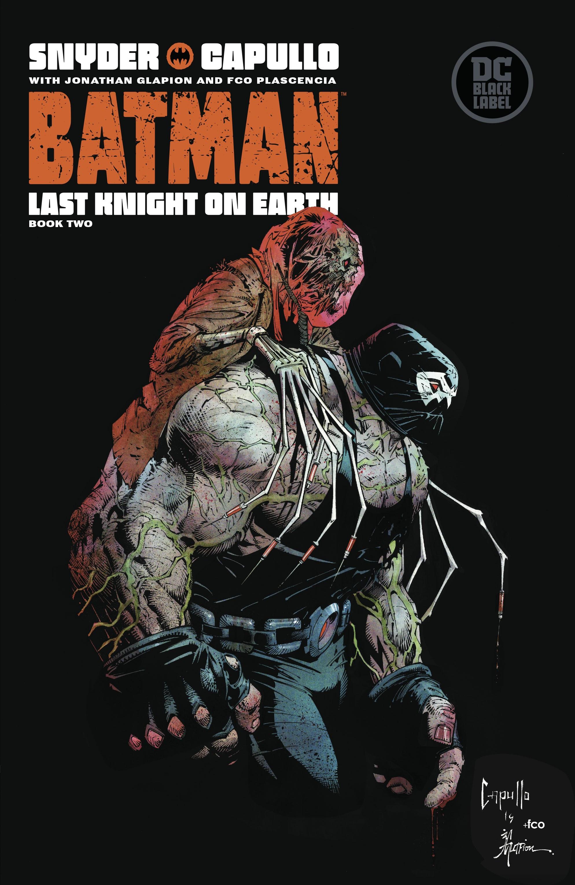 Batman: Last Knight On Earth 2 Page 1