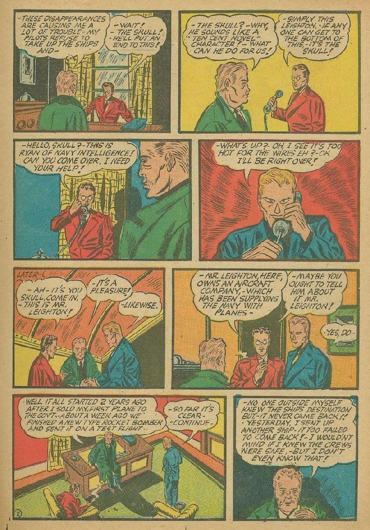 Read online Amazing Man Comics comic -  Issue #9 - 22