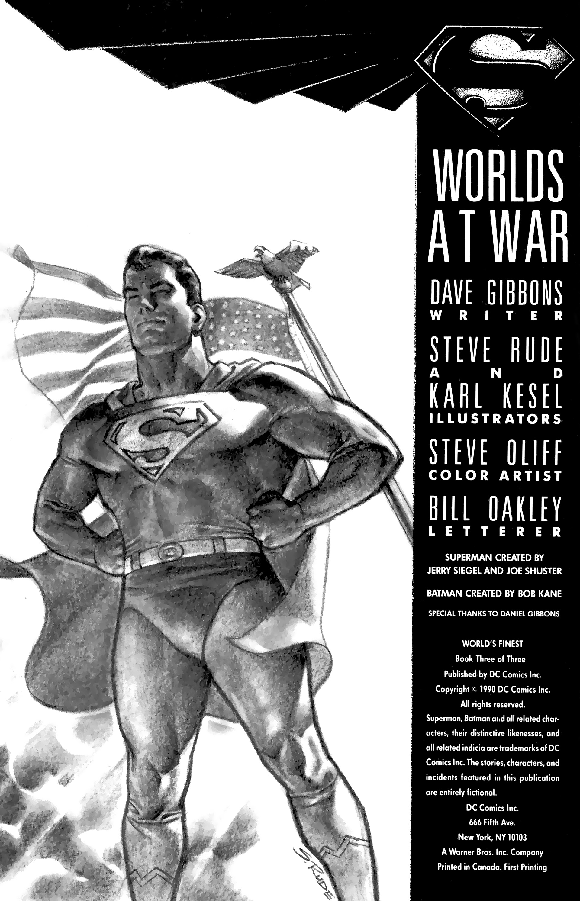 Read online World's Finest (1990) comic -  Issue #3 - 3