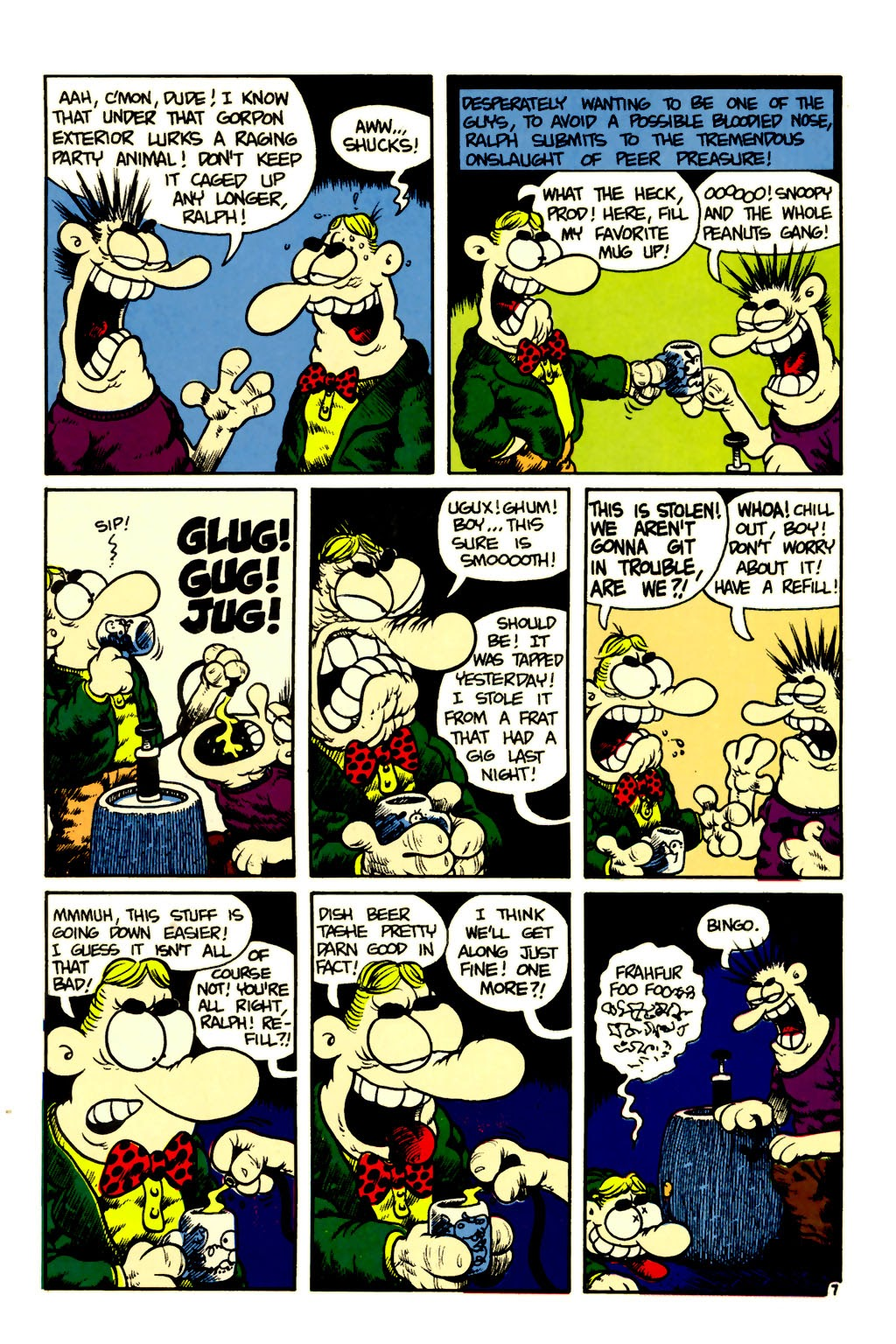 Ralph Snart Adventures (1988) issue 6 - Page 8