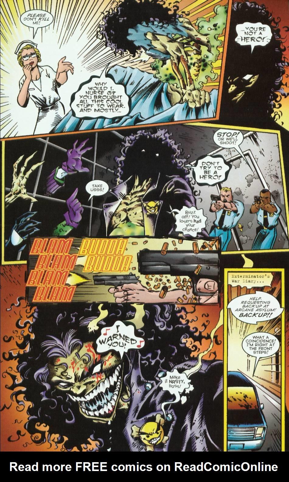 Read online Evil Ernie vs. the Superheroes comic -  Issue #1 - 11