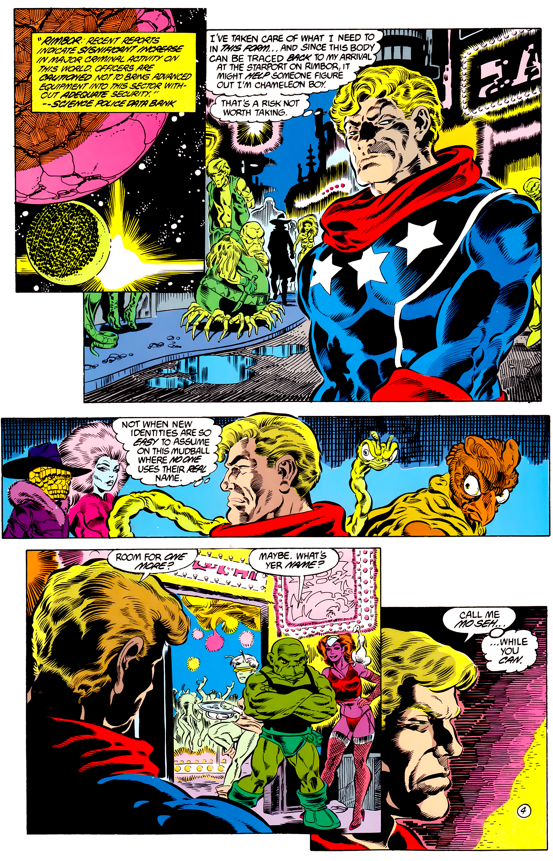 Legion of Super-Heroes (1984) 46 Page 4