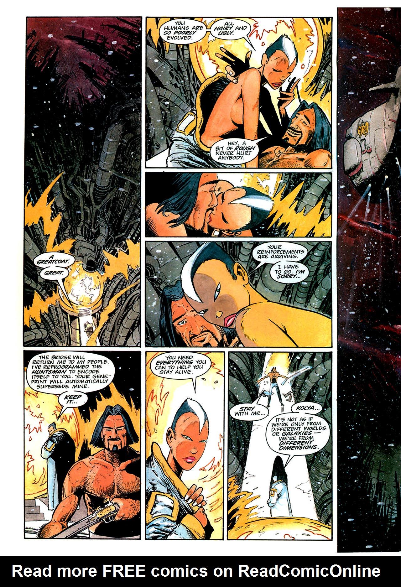 Read online Nikolai Dante comic -  Issue # TPB 1 - 176