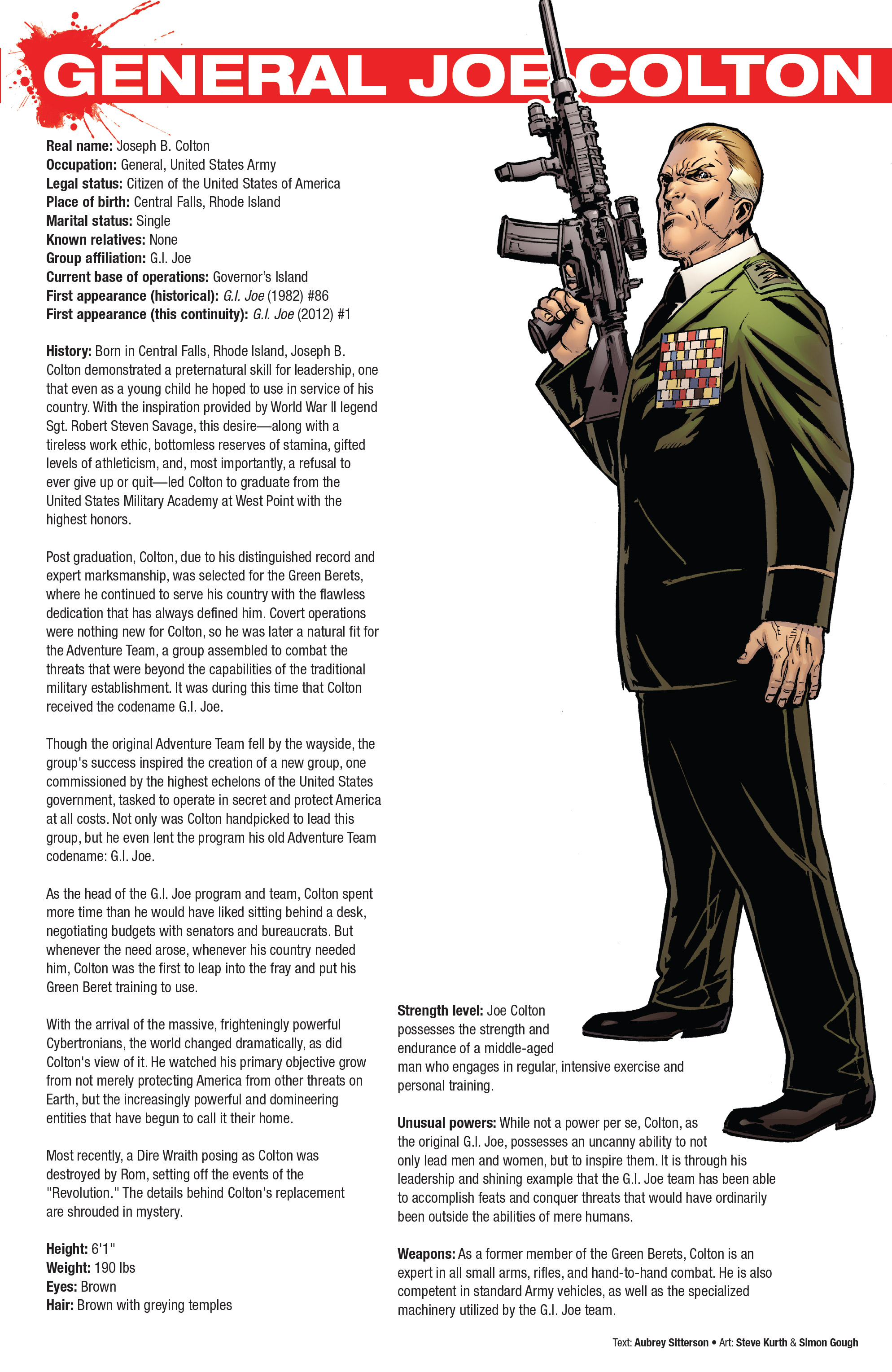Read online Hasbro Heroes Sourcebook comic -  Issue #1 - 30