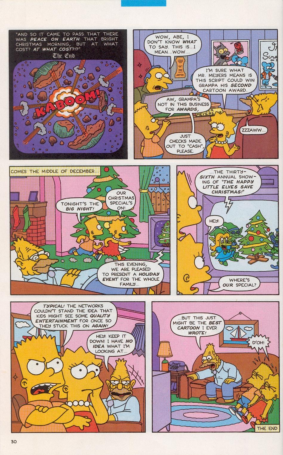 Read online Simpsons Comics comic -  Issue #52 - 29