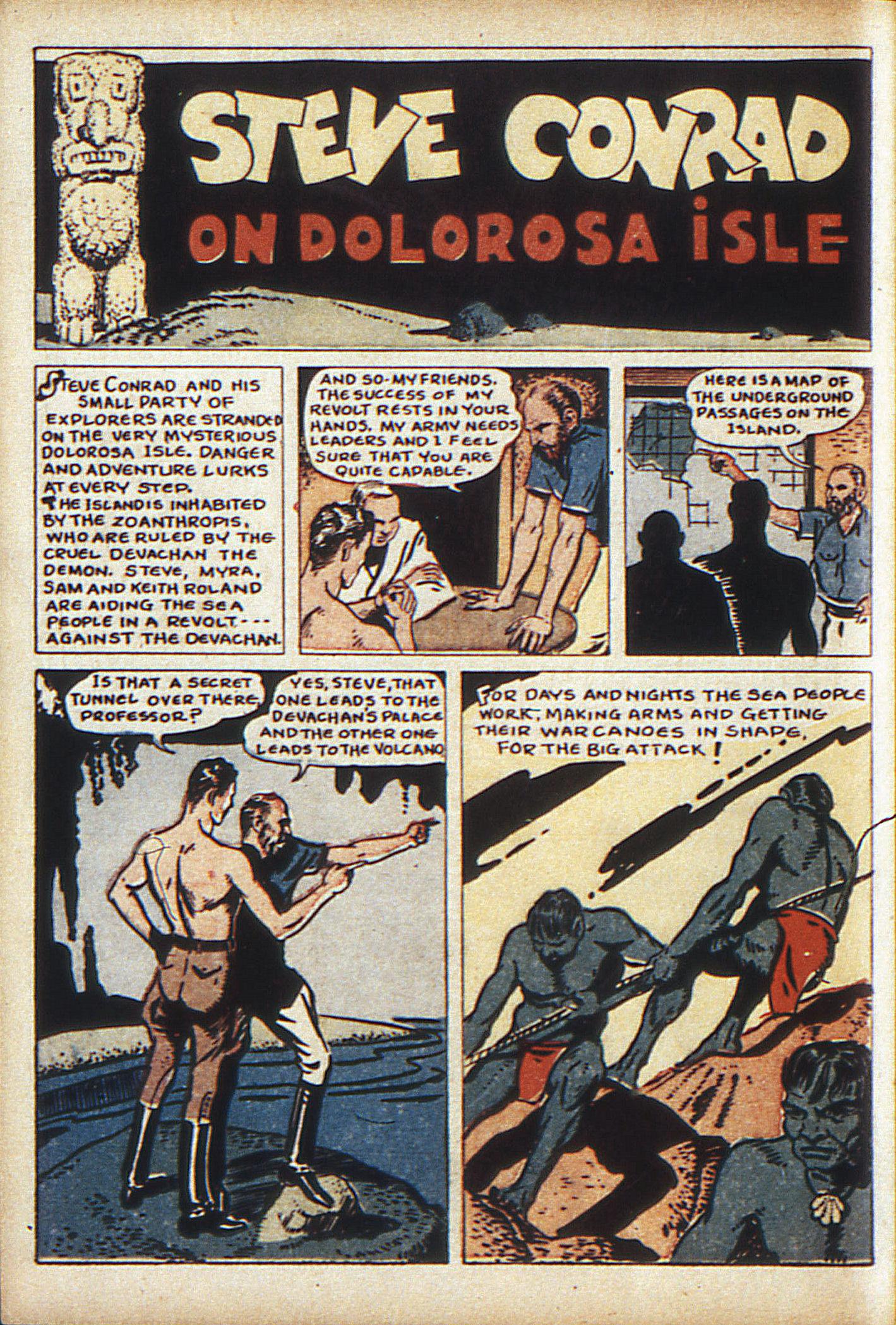 Read online Adventure Comics (1938) comic -  Issue #10 - 51
