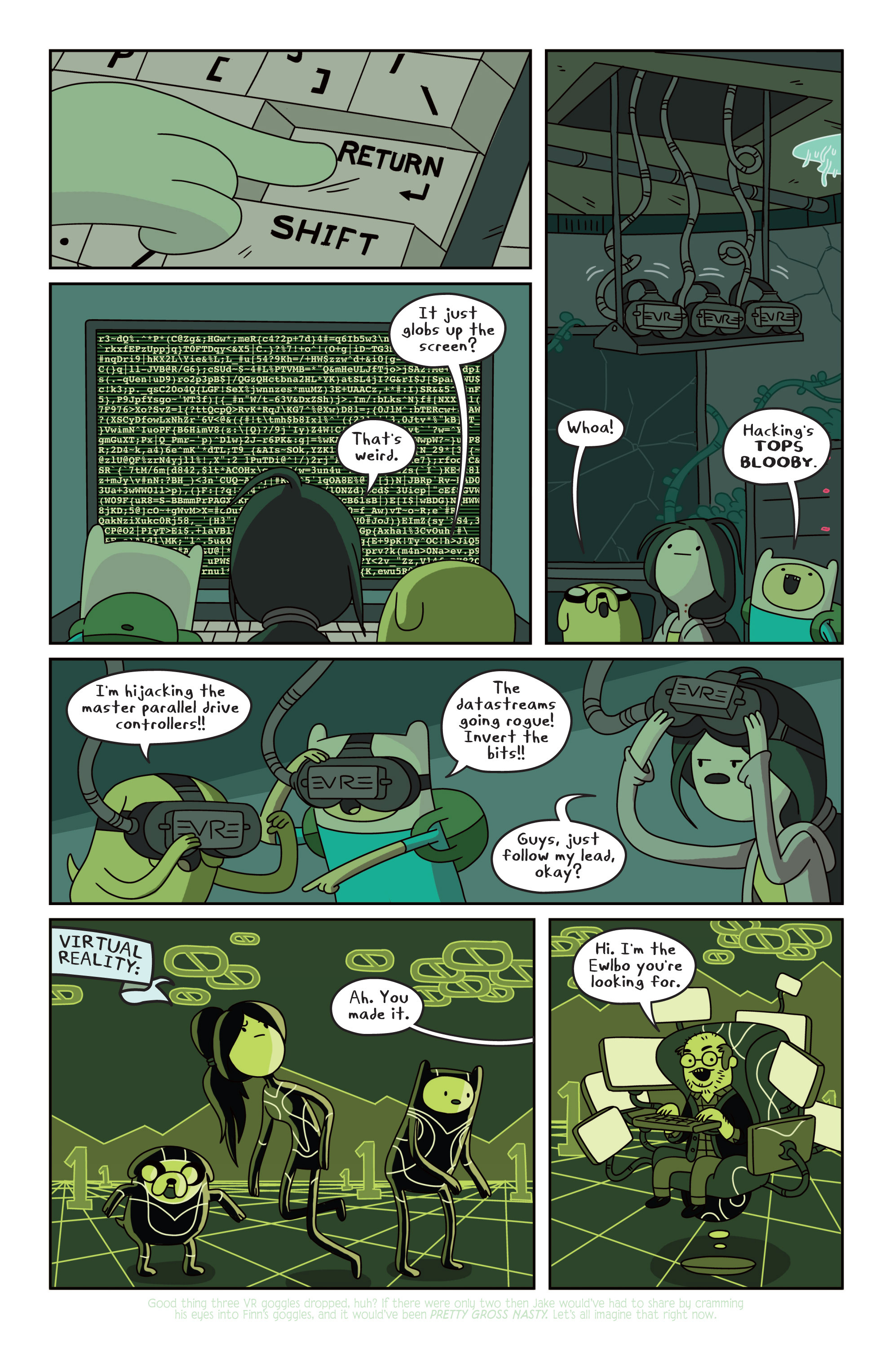 Read online Adventure Time comic -  Issue #13 - 18