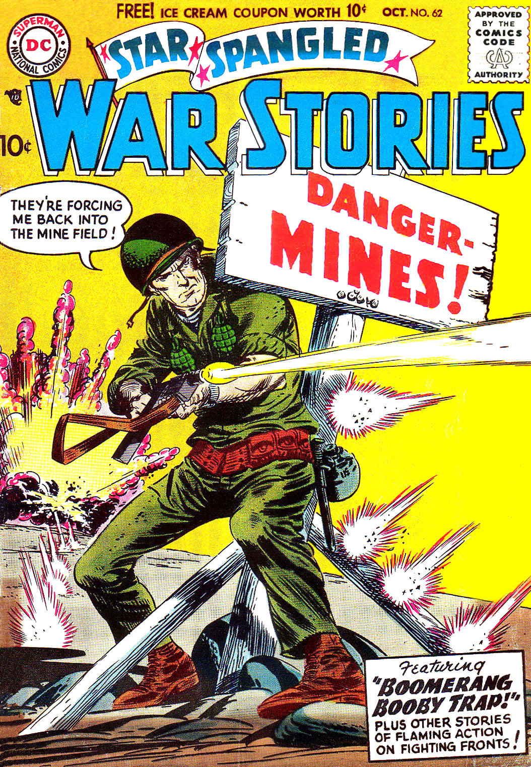 Star Spangled War Stories (1952) issue 62 - Page 1