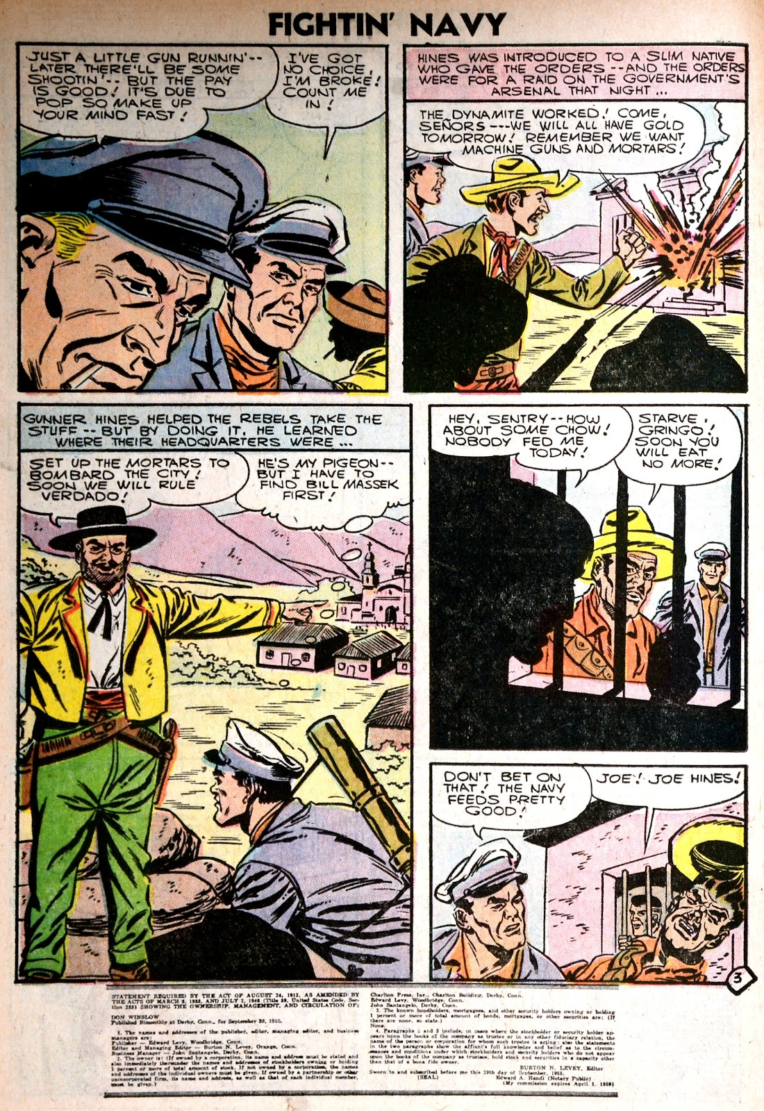 Read online Fightin' Navy comic -  Issue #75 - 26