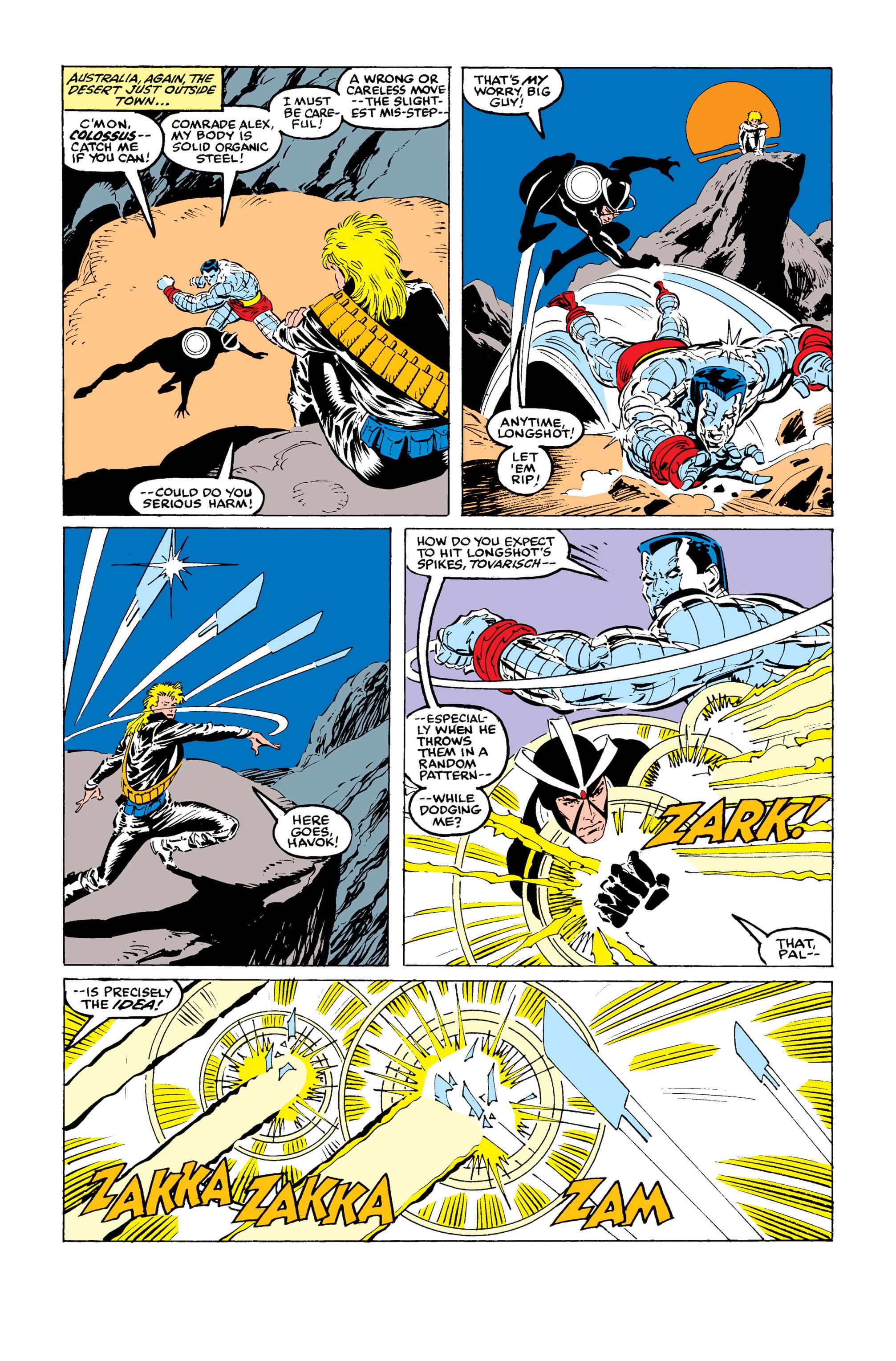 Read online Uncanny X-Men (1963) comic -  Issue #246 - 11