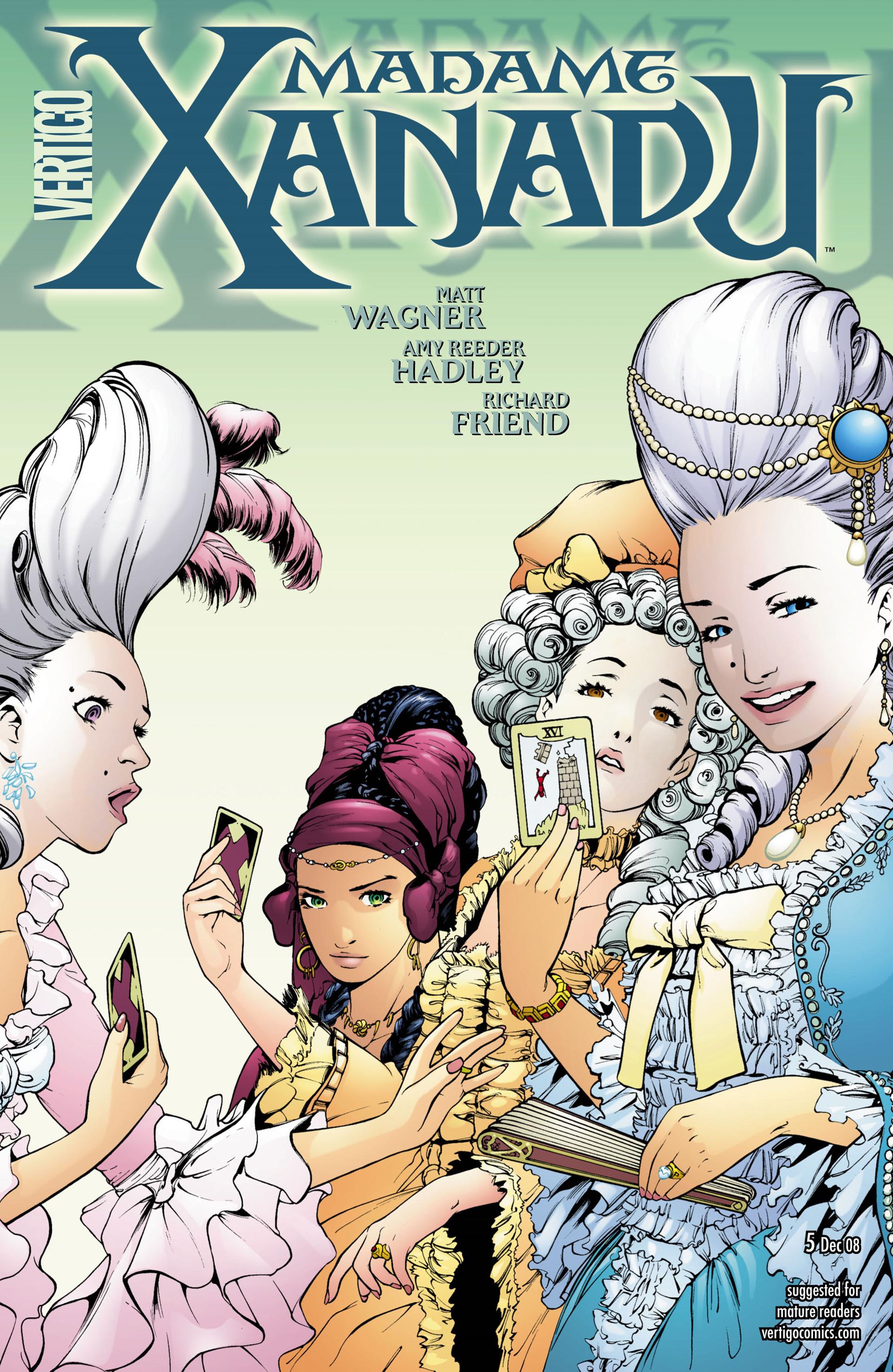 Madame Xanadu issue 5 - Page 1