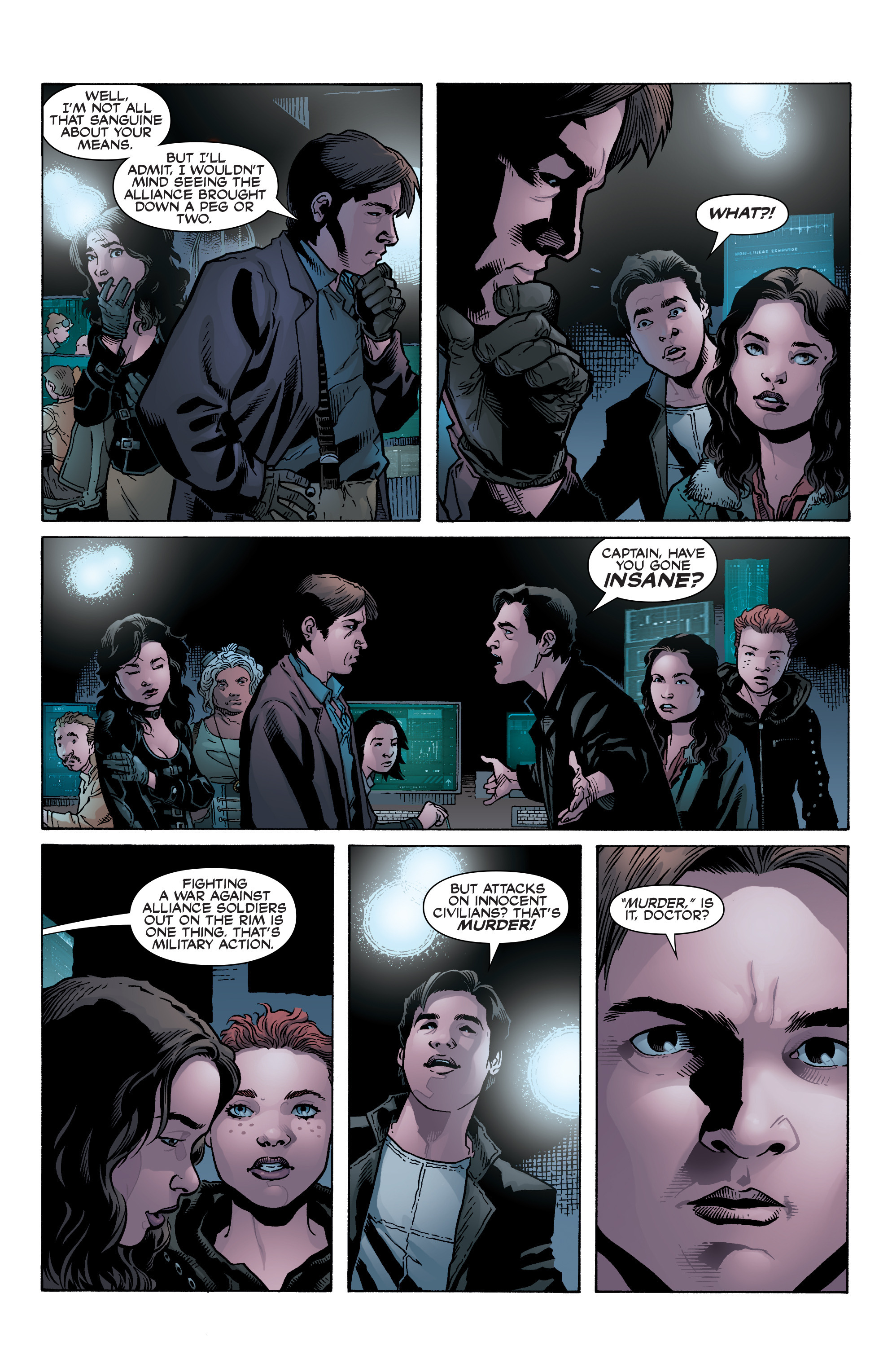 Read online Serenity: Firefly Class 03-K64 – No Power in the 'Verse comic -  Issue #2 - 10