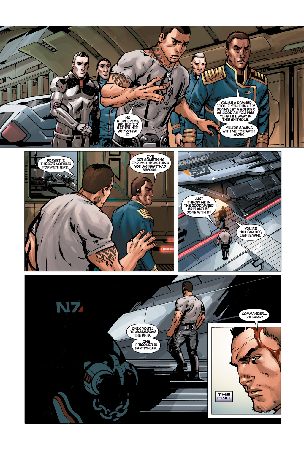 Read online Mass Effect: Conviction comic -  Issue # Full - 10